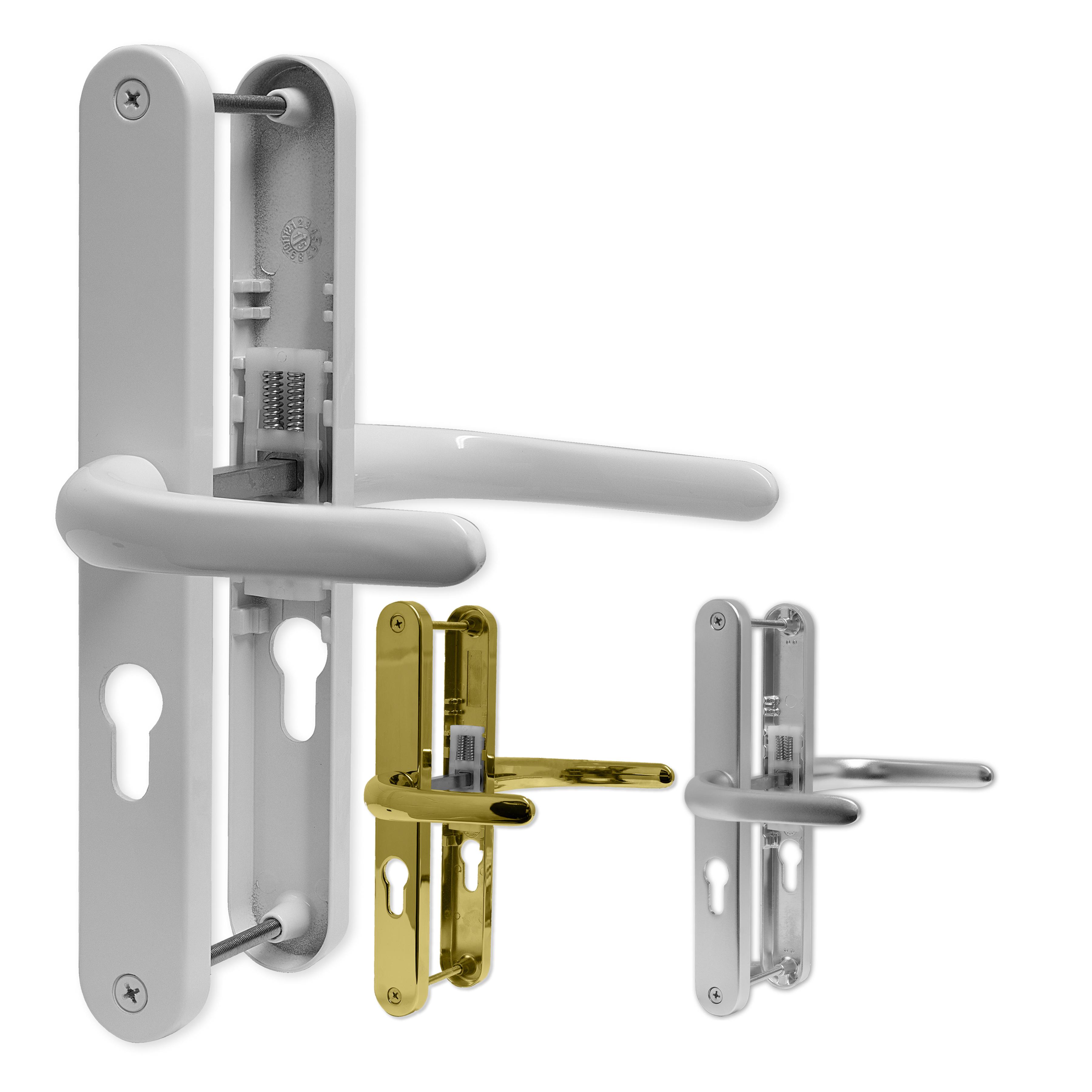 Upvc Door Handle 48pz Sprung Double Glazing Pair Set Patio
