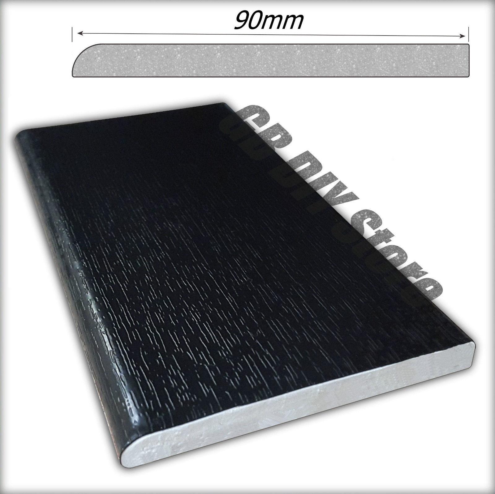 Upvc Window And Door Trim Plastic Architrave Black Pvc 5m