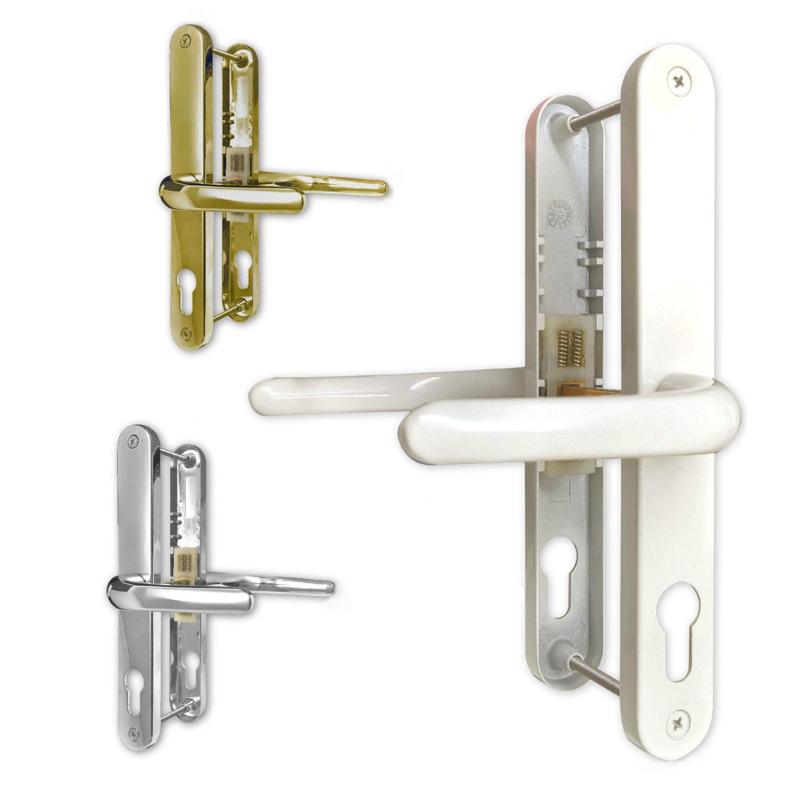 Upvc Fullex 68pz Door Handle Sprung Pair 215mm Set Pvc Ebay