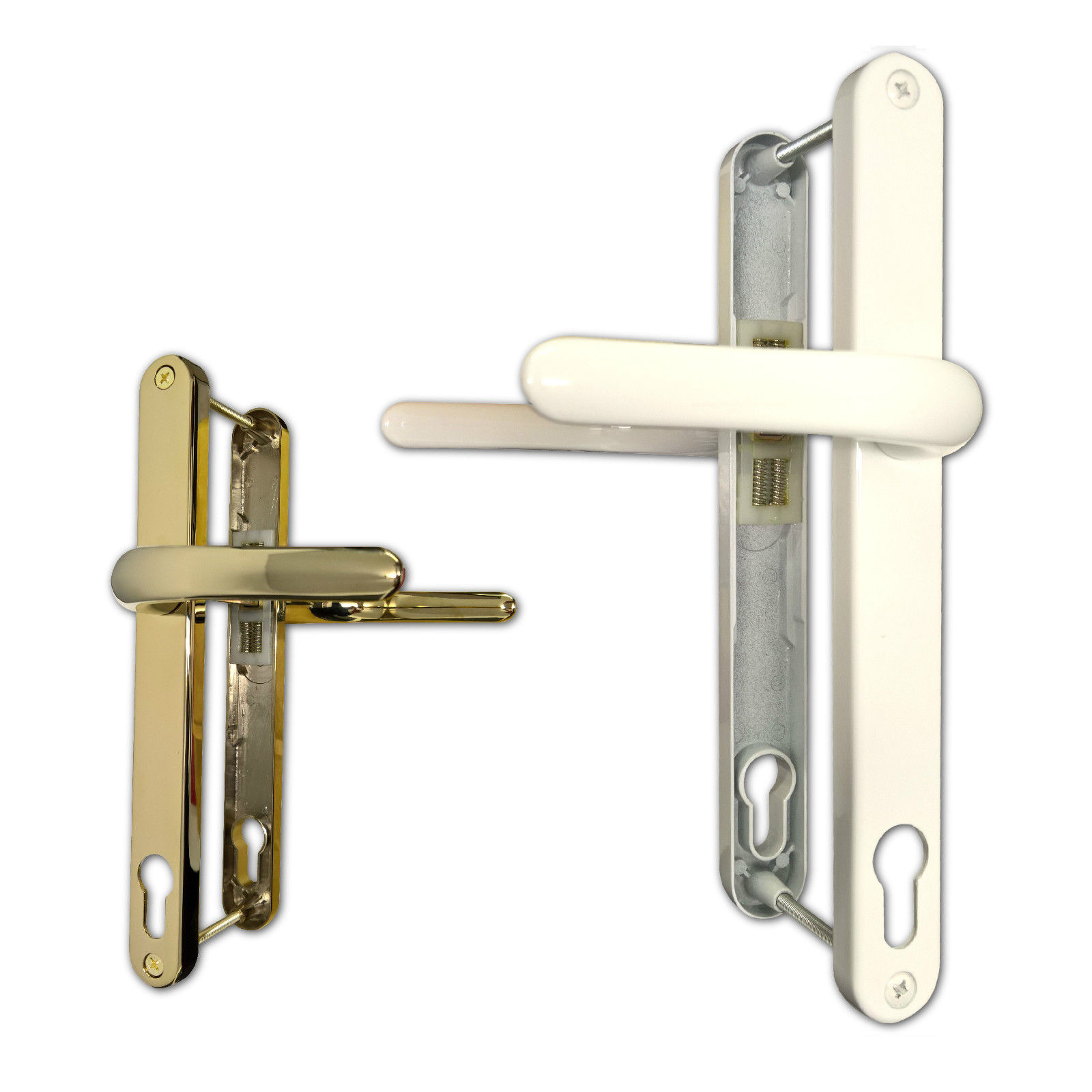 Upvc Millenco Double Glazing 117pz Door Handle Sprung Pair