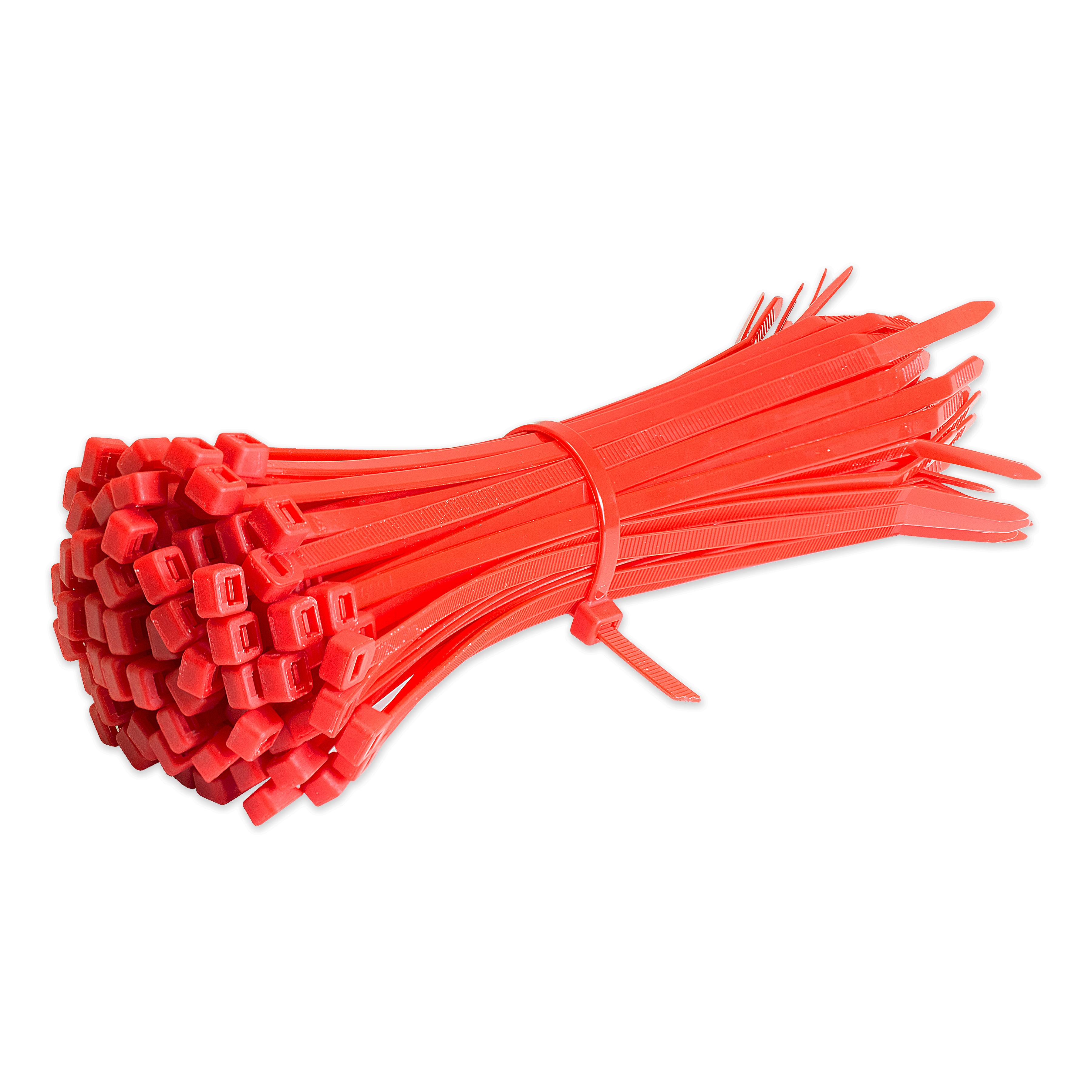100-X-Cable-Ties-Cravate-Enveloppes-Nylon-Zip-liens-Forts-Extra-Long-Toutes-Tailles-Et-Couleurs