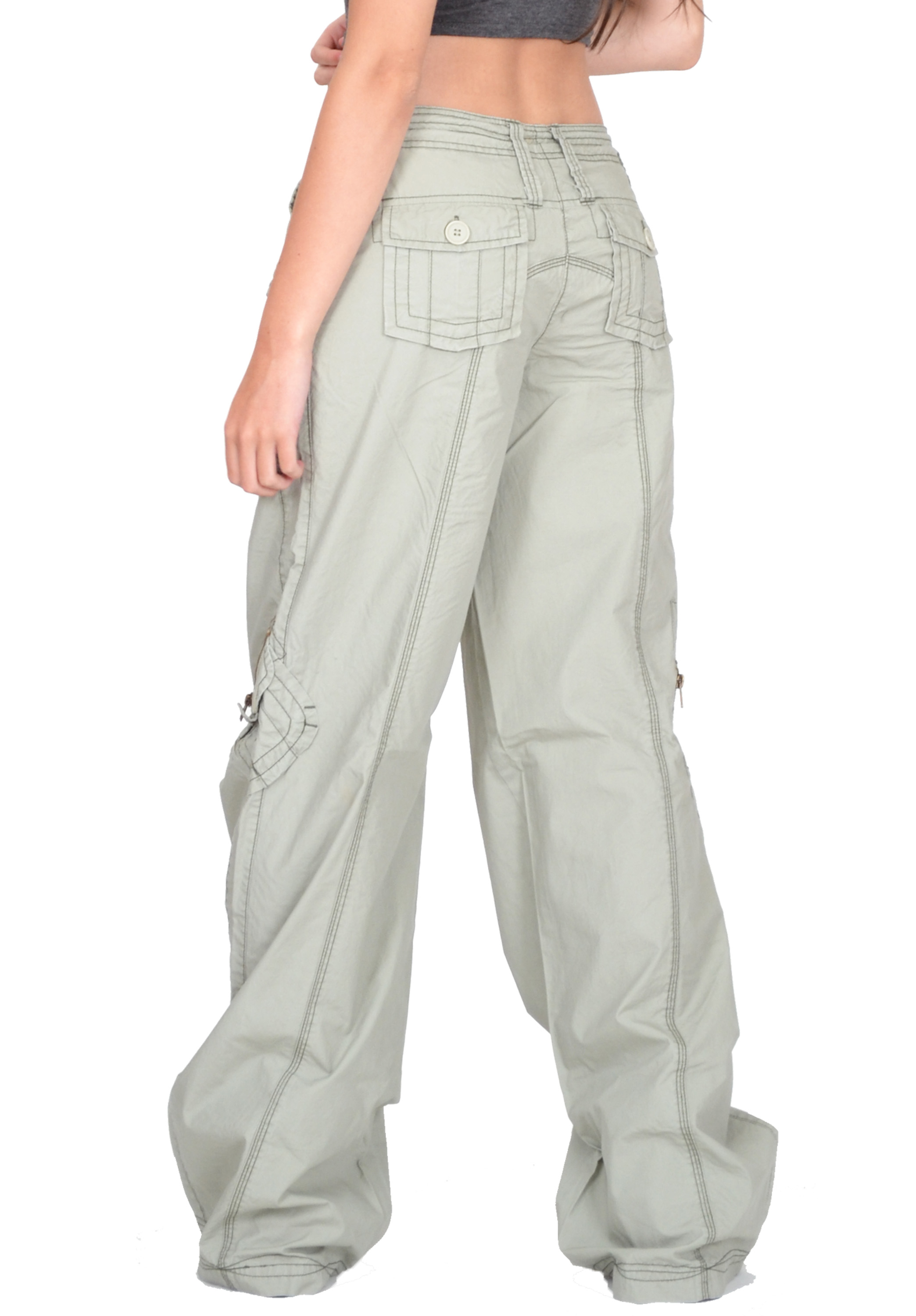 Autumn Hit!!! Ultra-modern wide baggy trousers with a little low waist, wide freight and strap around waist and wide freight on the ankle. Ultra modern wide baggy trousers of glossy eco leather with a little low waist. They have wide stretch and an interesting strap around the.