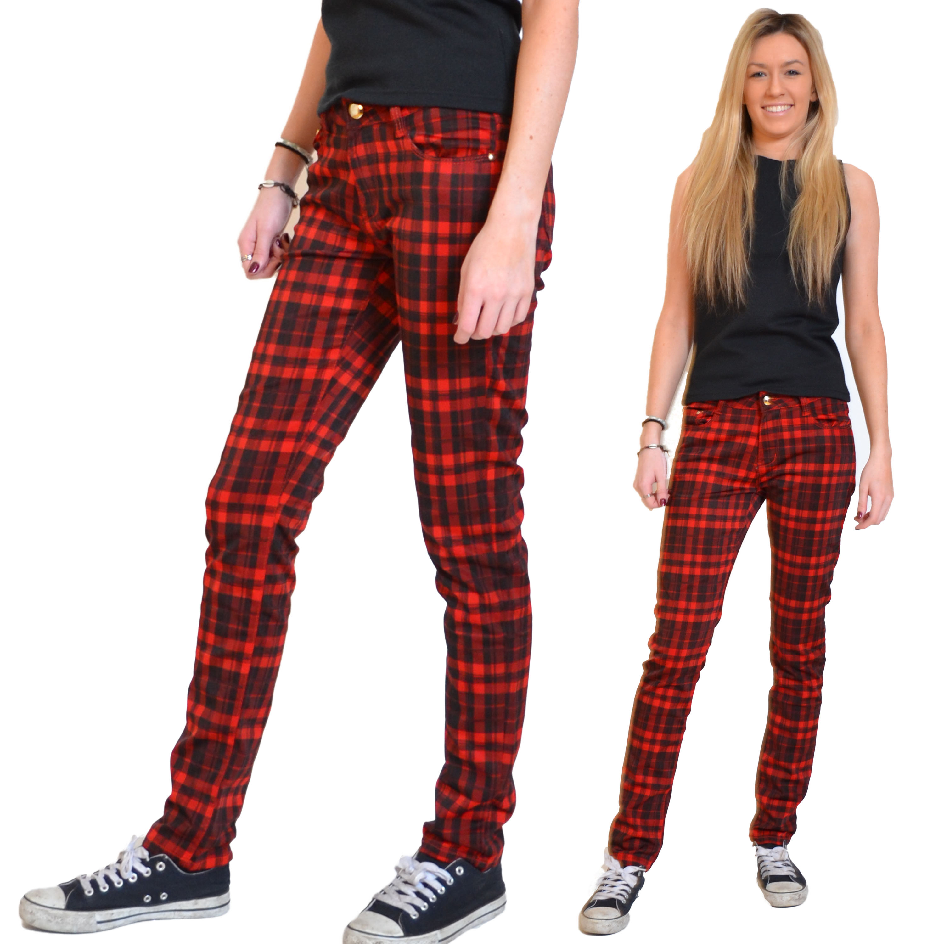 Find great deals on eBay for Red Check Trousers in Women's Pants, Clothing, Shoes and Accessories. Shop with confidence.