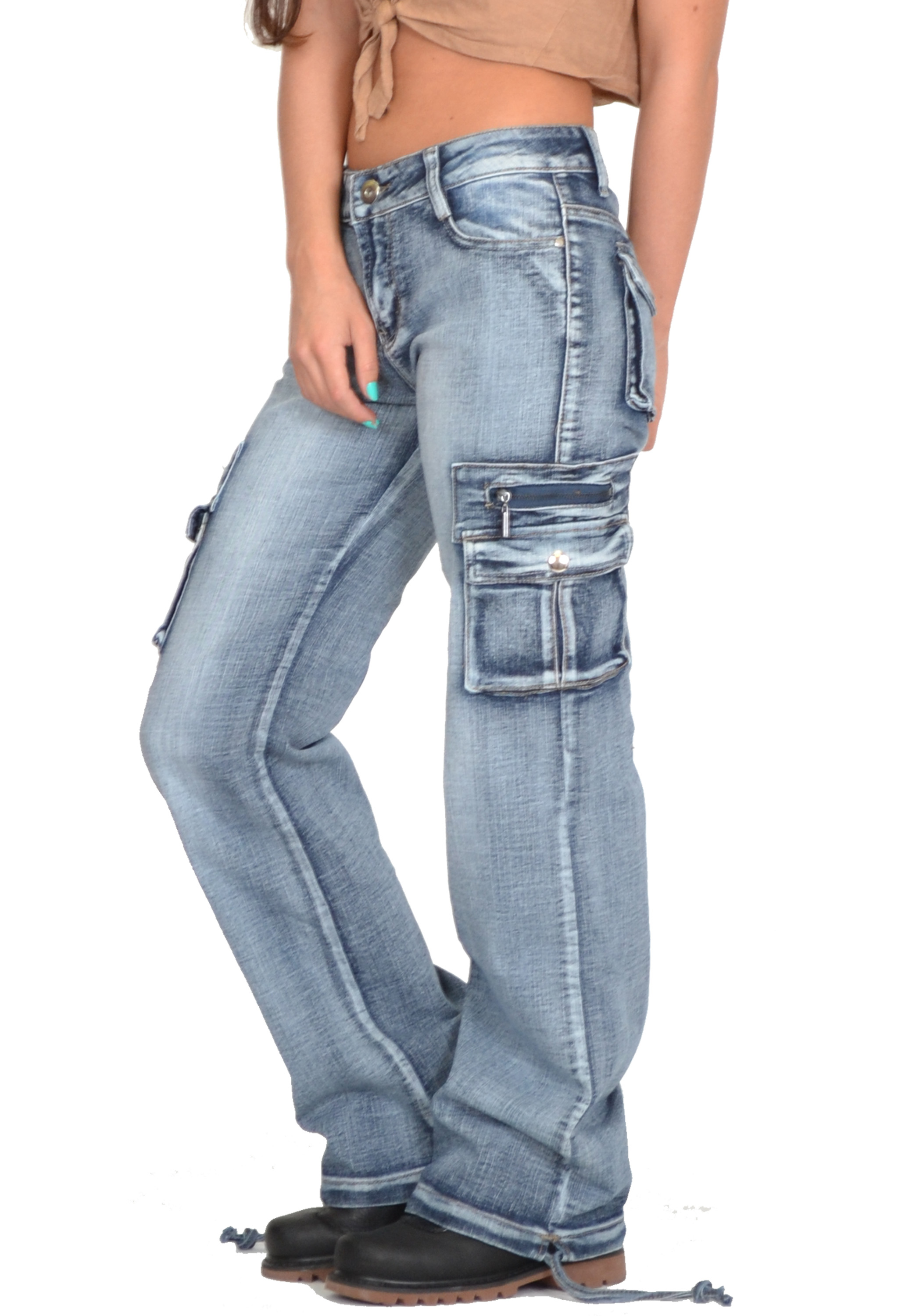 Cargo Jeans For Women Ye Jean