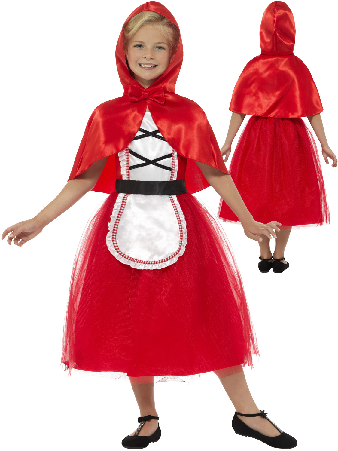 Little Red Riding Hood World Book Day Film Fancy Dress Party Costume Child/'s