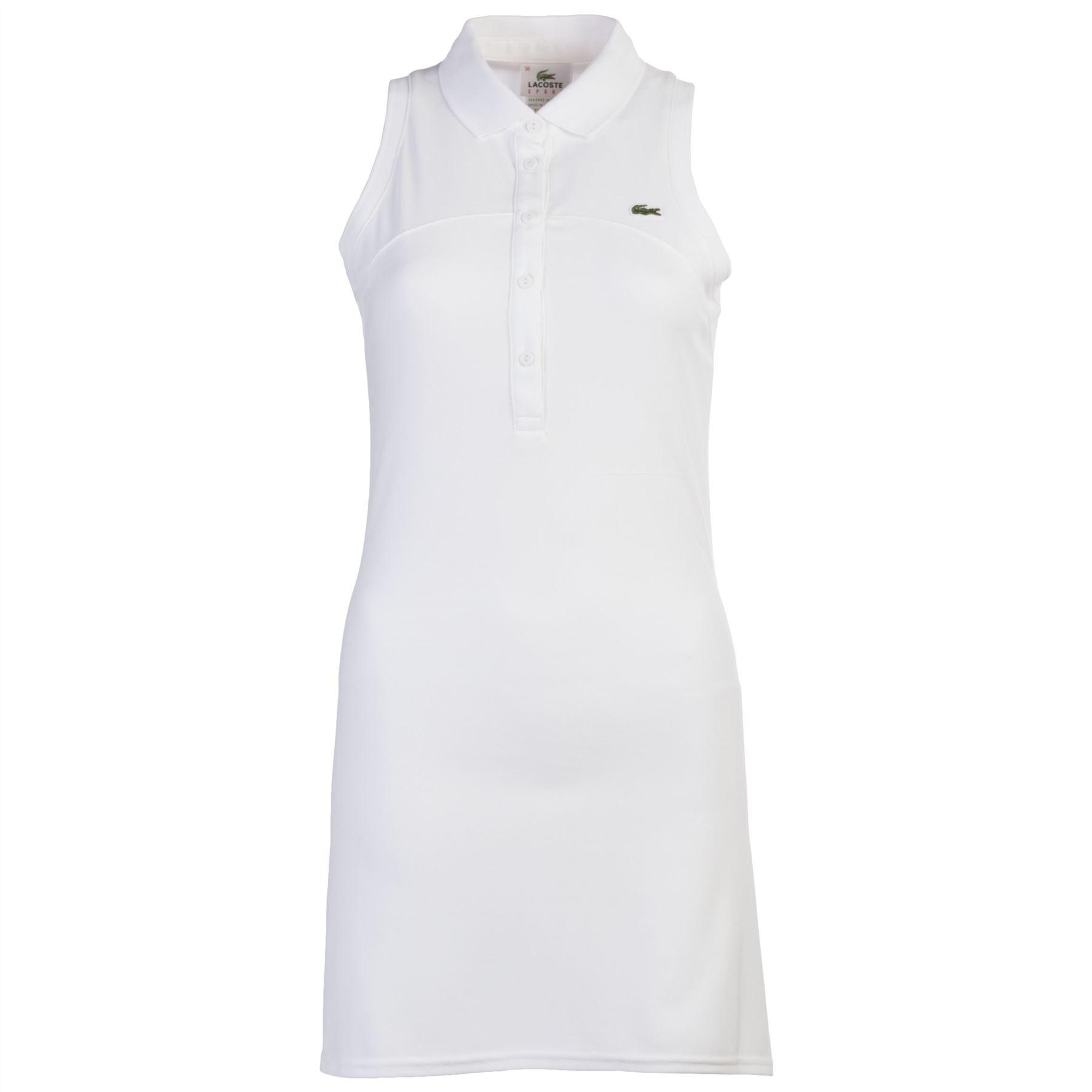 Lacoste Women 039 S Sleeveless Polo Dress Running