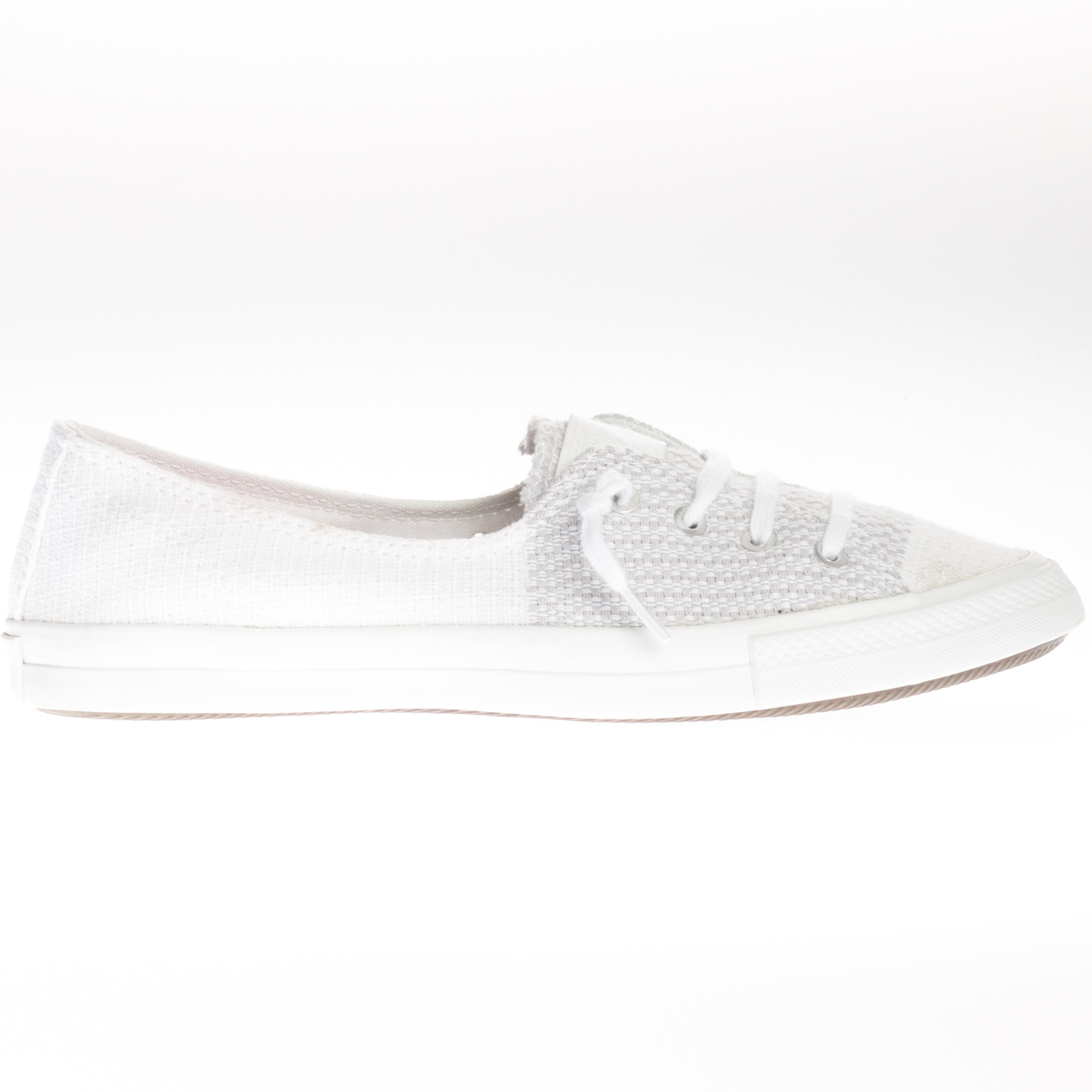 Details about Converse Womens Chuck Taylor Fancy ESPDRL Slip White Lace Up Trainers Slip on