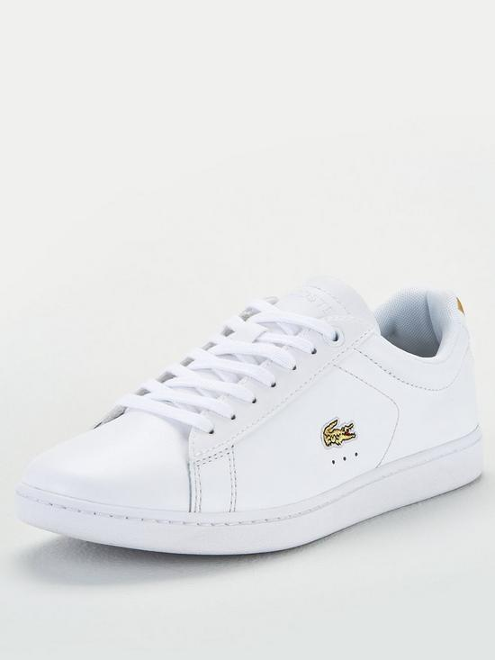 Lacoste Junors Carnaby Evo Trainers