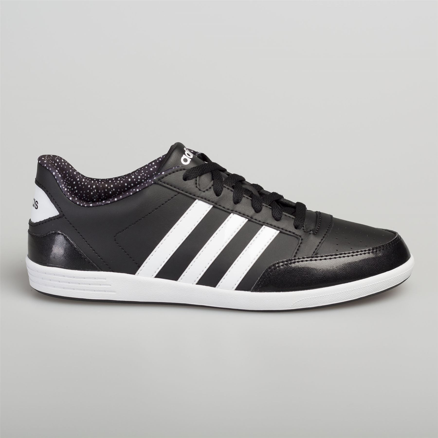 44e74a42be0d6 Adidas Men s Women s Leather Trainers Calneo Lite Racer Hoops VL Black White