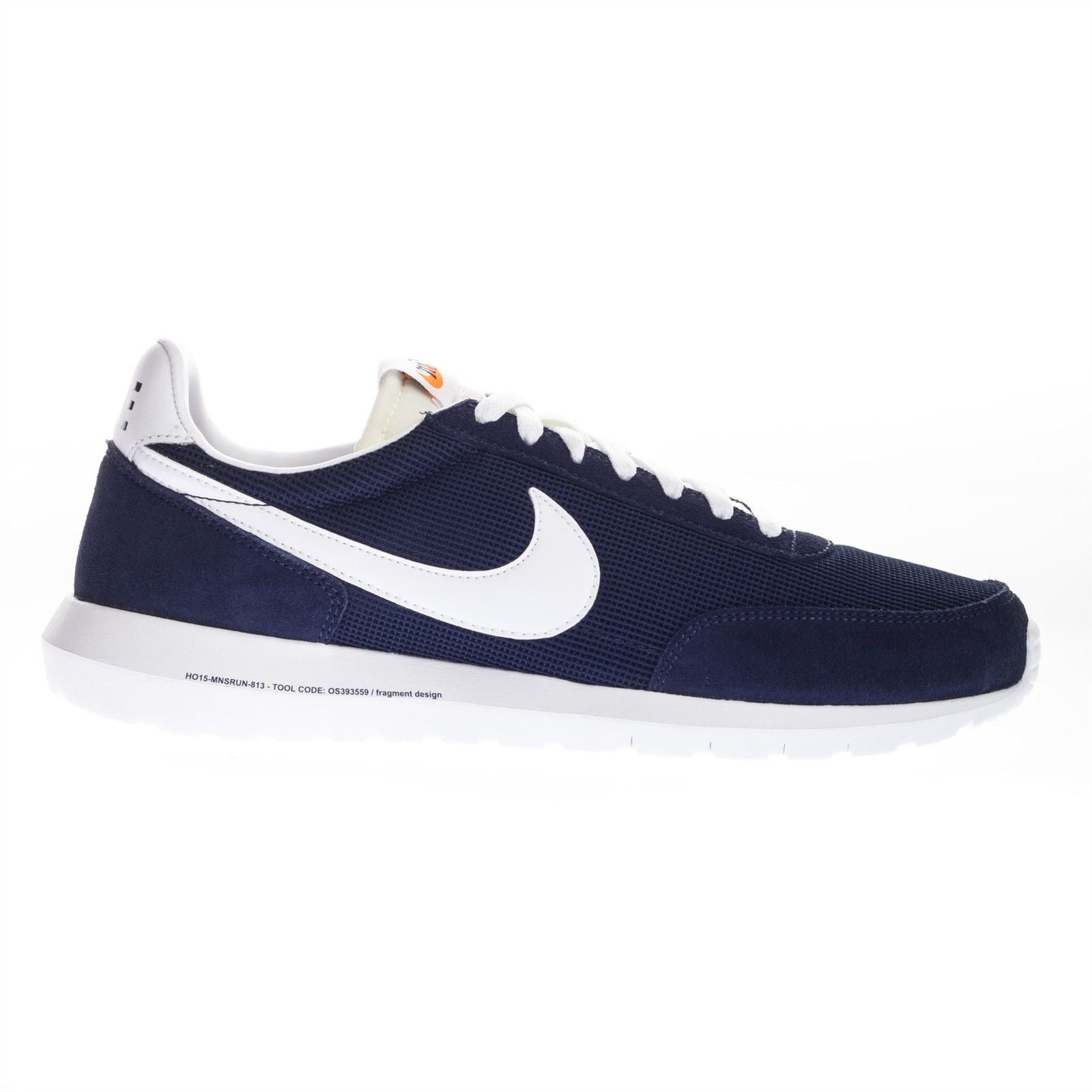 Nike Men's Roshe Low Top Trainers Navy Blue Active Gym Rubber Sole Lace Up