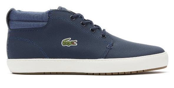 Lacoste Mens Ampthill Terra Trainers