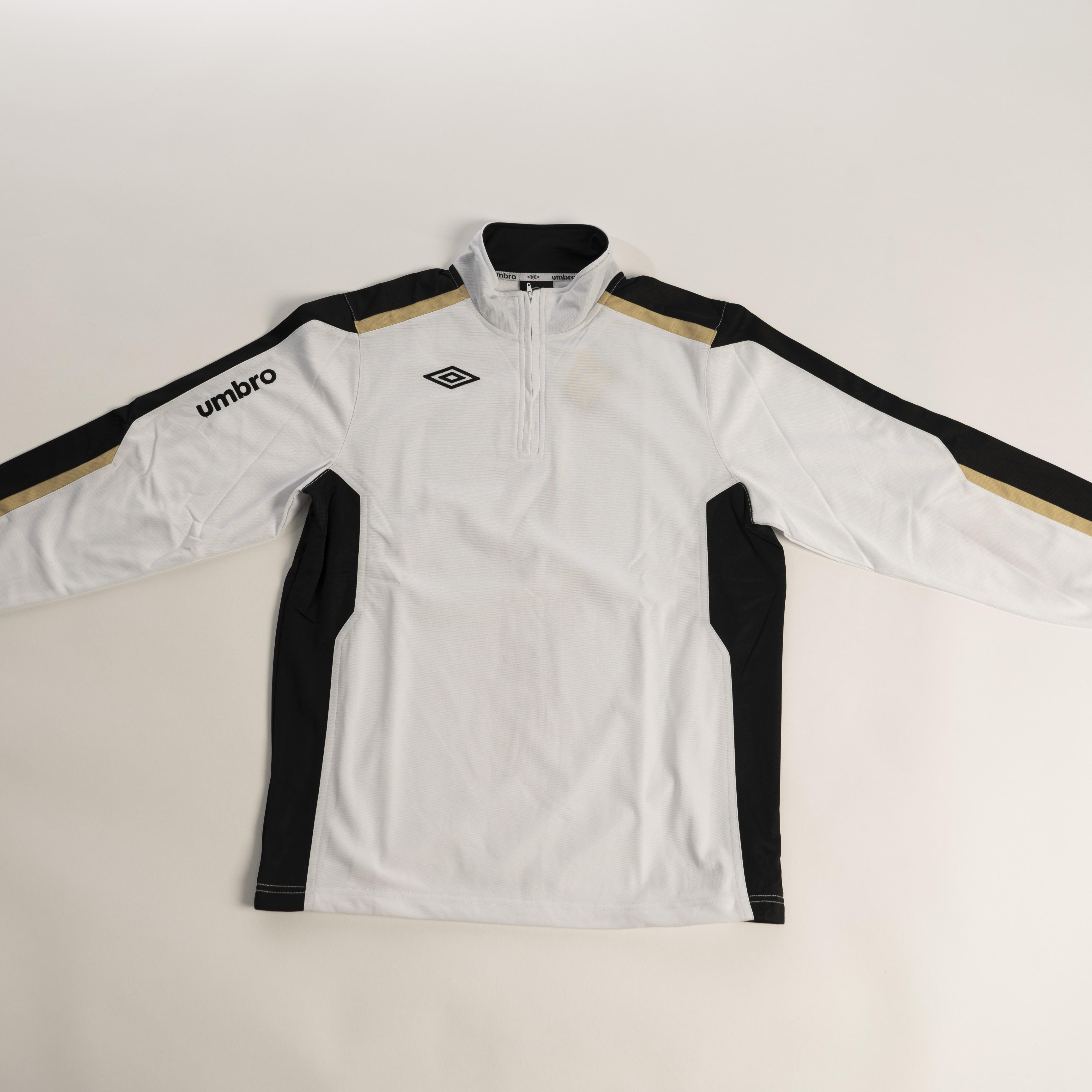 Umbro Men/'s Sweatshirt Red//Black//White Training Jersey Activewear