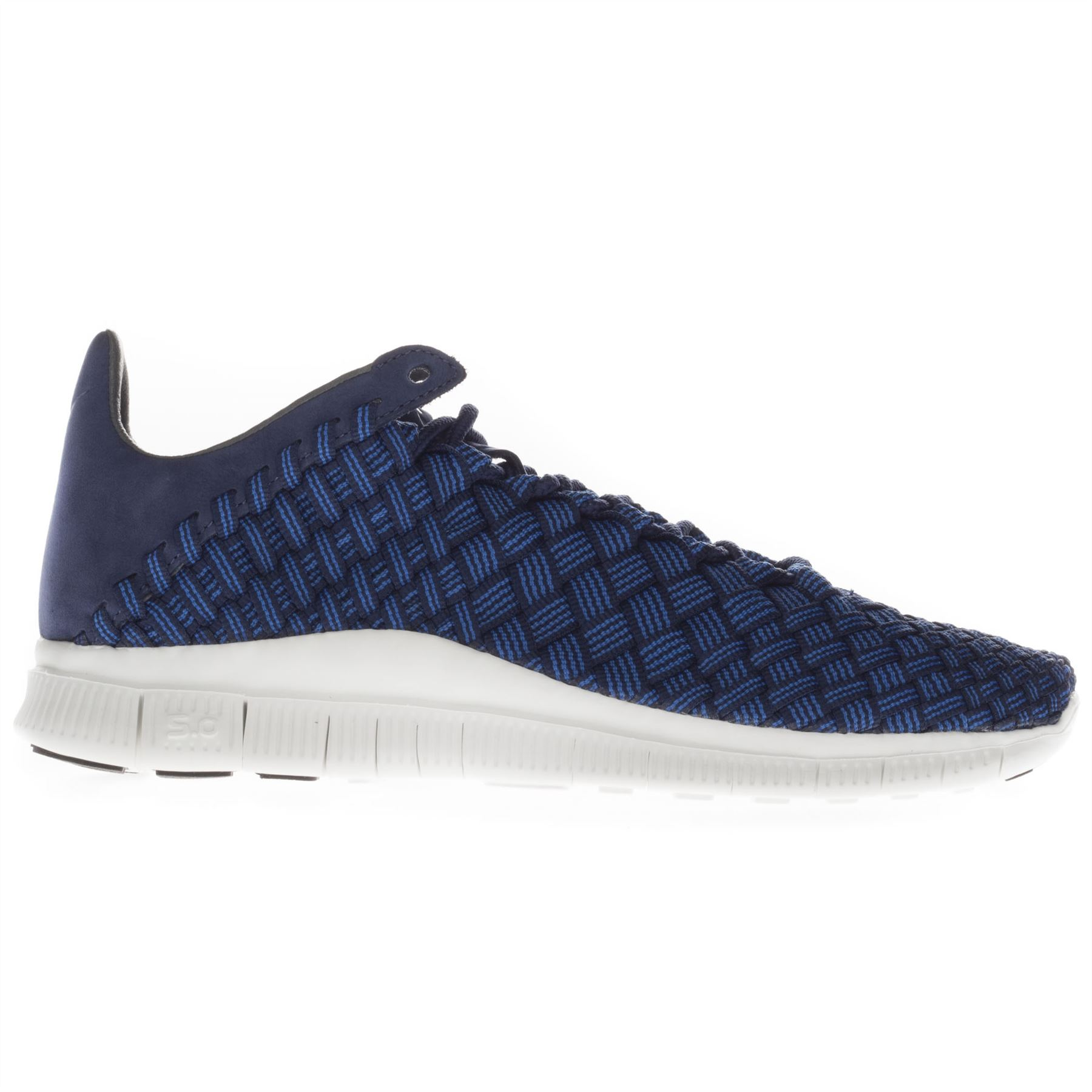 Nike Hommes Top Free Inneva Woven Low Top Hommes Running Sports Casual Noir Bleu Trainers a55d3f