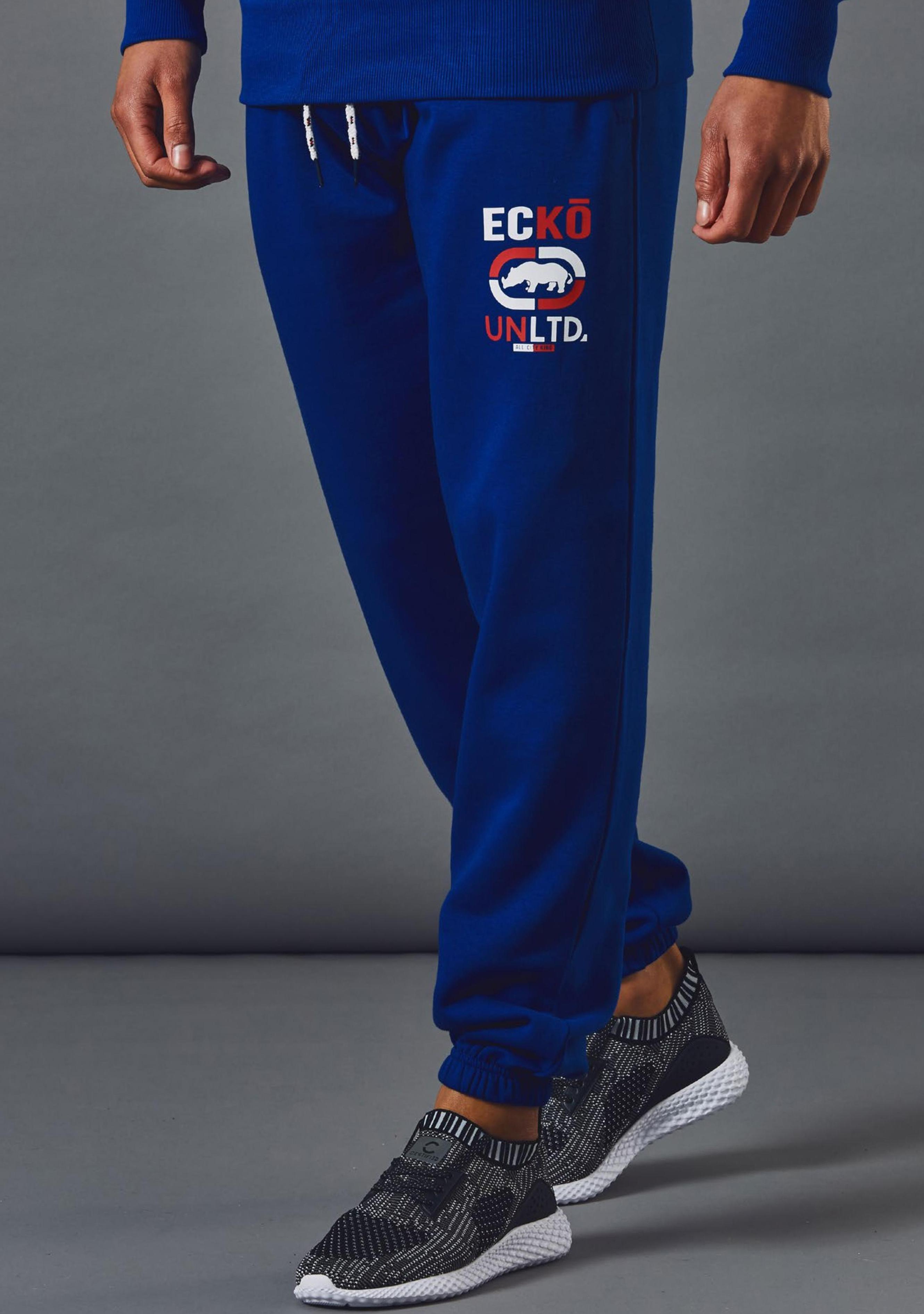 Mens Ecko Unltd Goodwood Fleece Jogging Bottom Sweat Pants