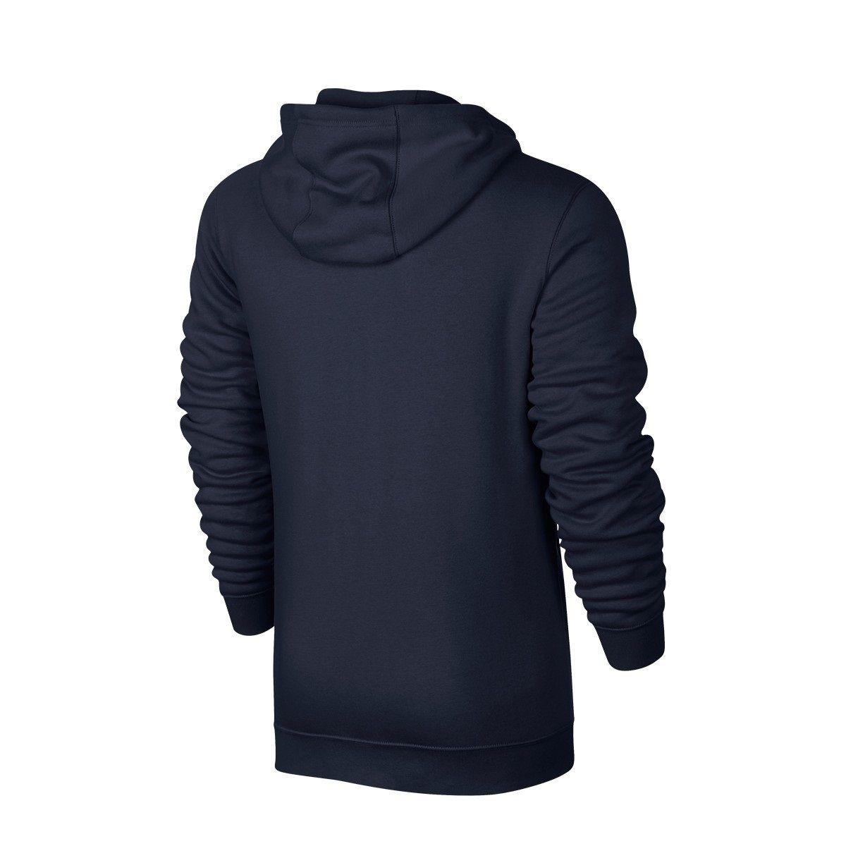 Nike Mens Club Zip Up Track Top Hoodie Black Grey Navy