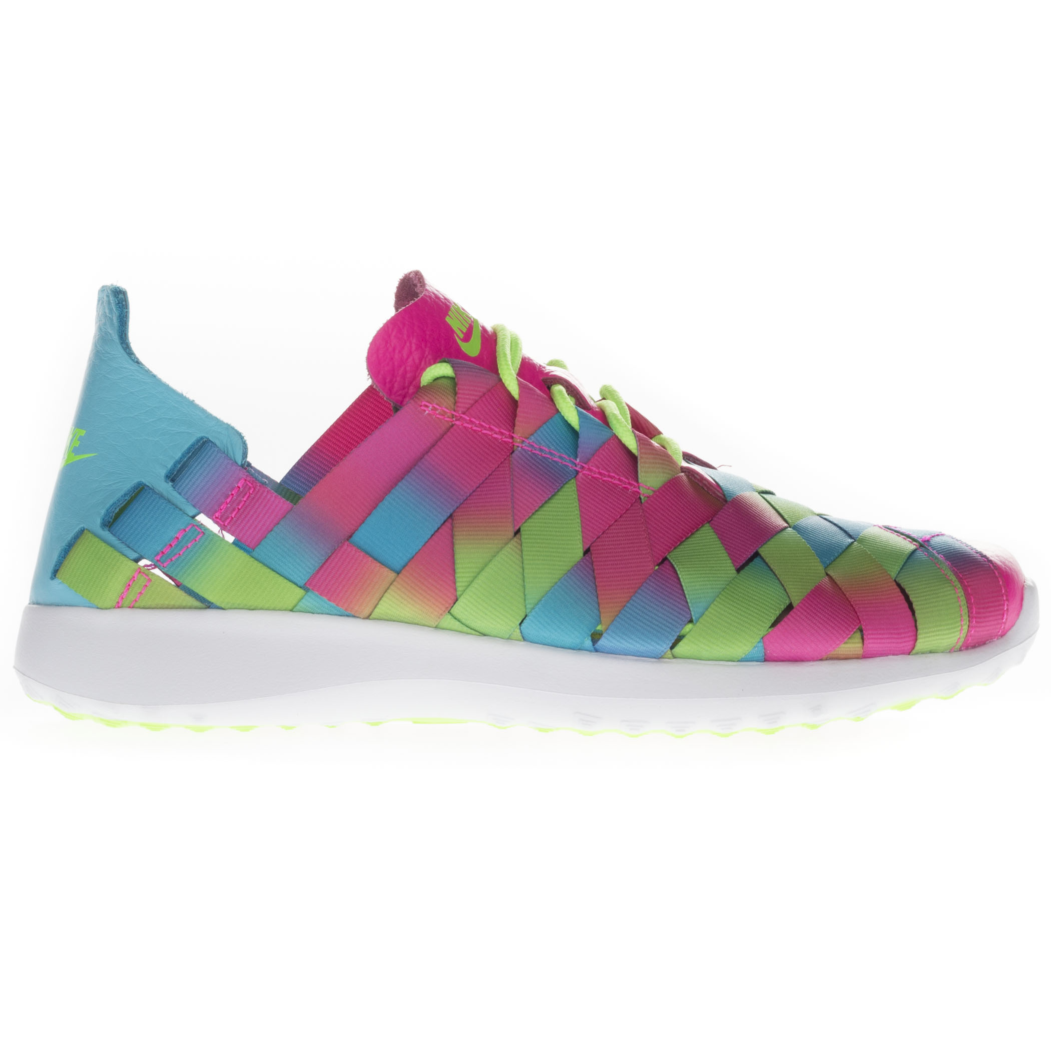 Nike Women's Junvenate Woven Prm Low Top Running Sports Blue Green Pink Trainers