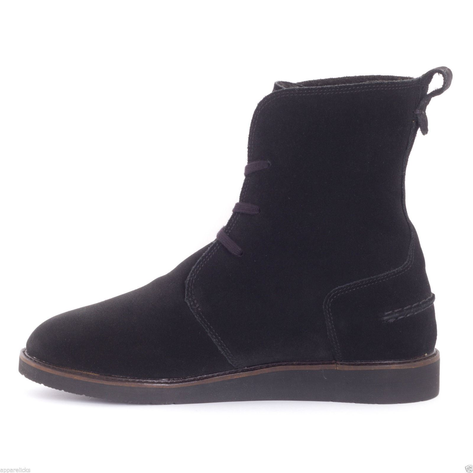 060c4fee8d5fc Lacoste Women s Baylen Lace Up Boot High Shaft Suede Faux Fur Lining ...
