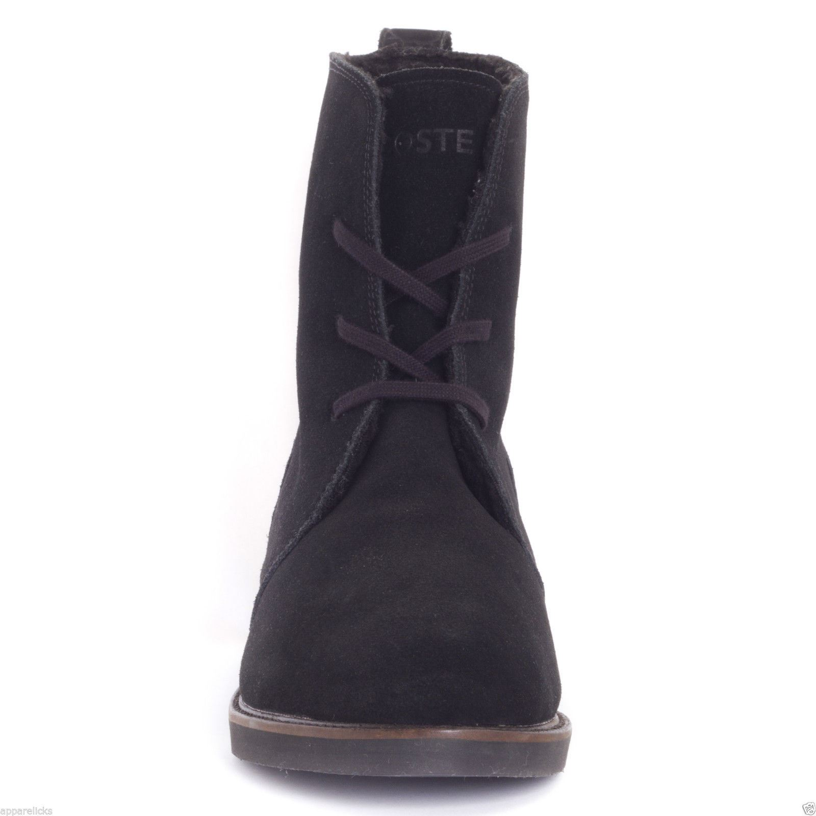 a65ed11309a3f Awesome Details About Lacoste Zerubia 2 Ladies Snow Boots Black