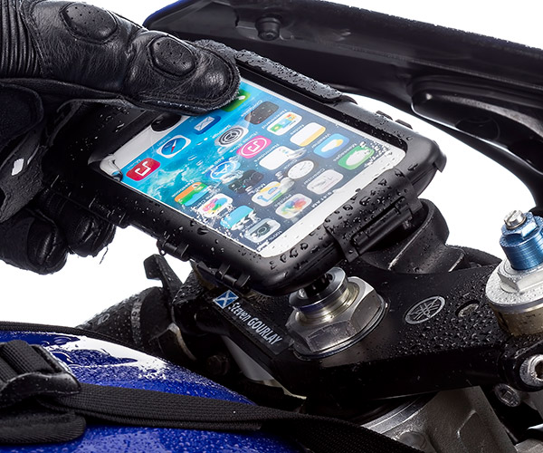 iphone 6 plus motorcycle mount motorcycle fork stem mount with wire for 3320