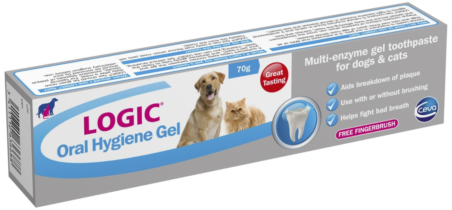 Logic Oral Hygiene Gel For Cats Amp Dogs Pet Toothpaste 70g
