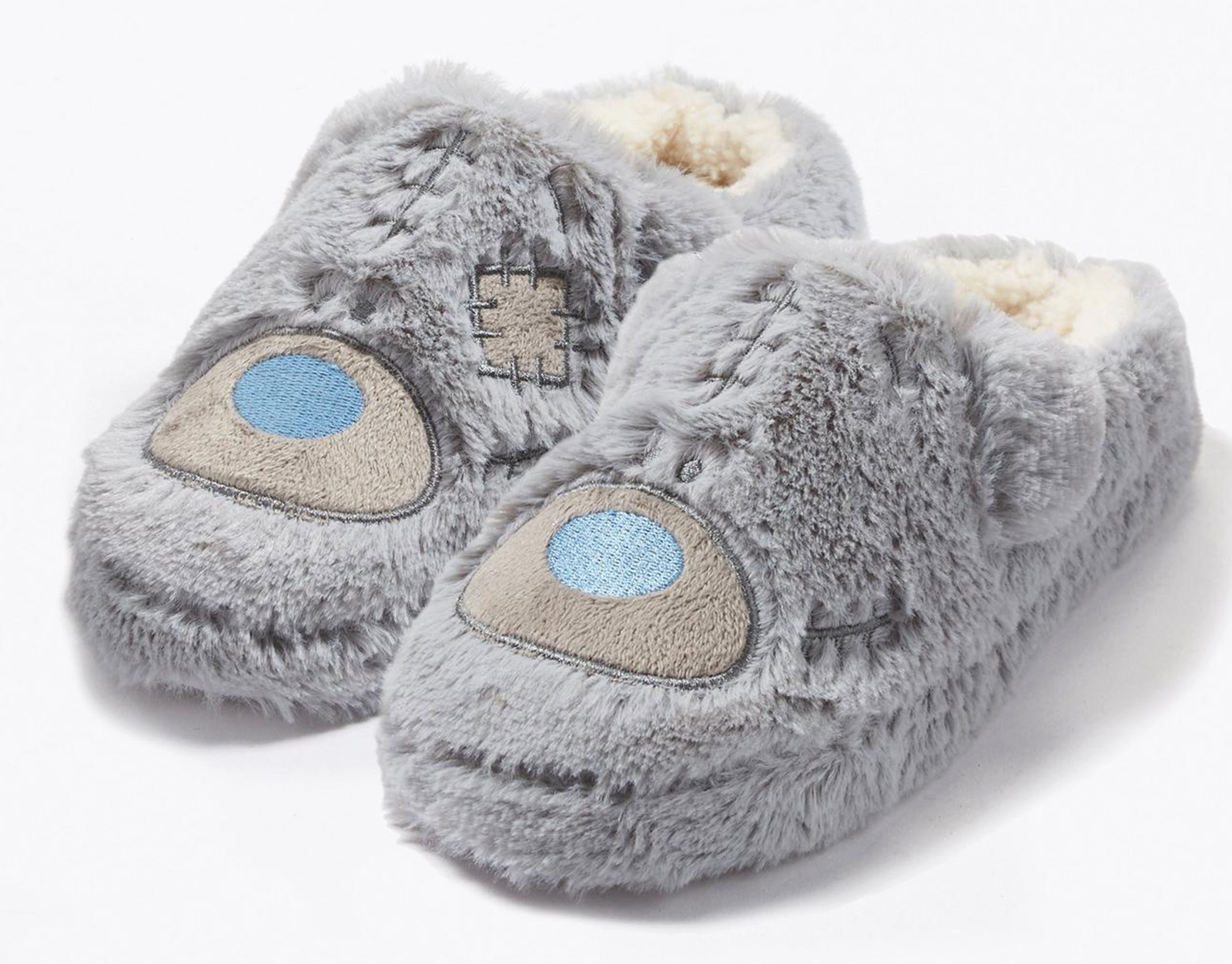 LADIES-FLUFFY-ME-TO-YOU-TATTY-TEDDY-SLIPPERS-NOVELTY-XMAS-GIFT-WARM-MULES-UK-3-8 thumbnail 6