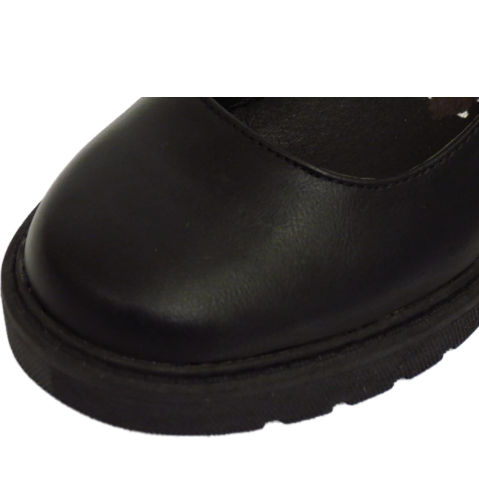 GIRLS-KIDS-CHILDRENS-BUCKLE-T-BAR-BLACK-SCHOOL-PUMPS-DOLLY-SMART-FLAT-SHOES-10-5 thumbnail 9