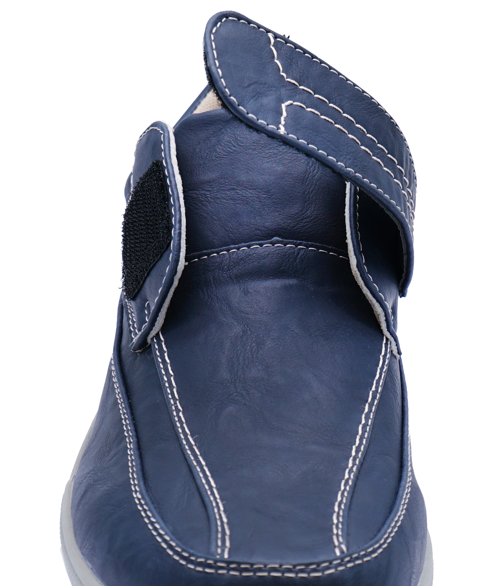 thumbnail 8 - MENS-NAVY-TOUCH-STRAP-COMFY-LIGHTWEIGHT-SMART-CASUAL-LOAFERS-DECK-SHOES-6-12