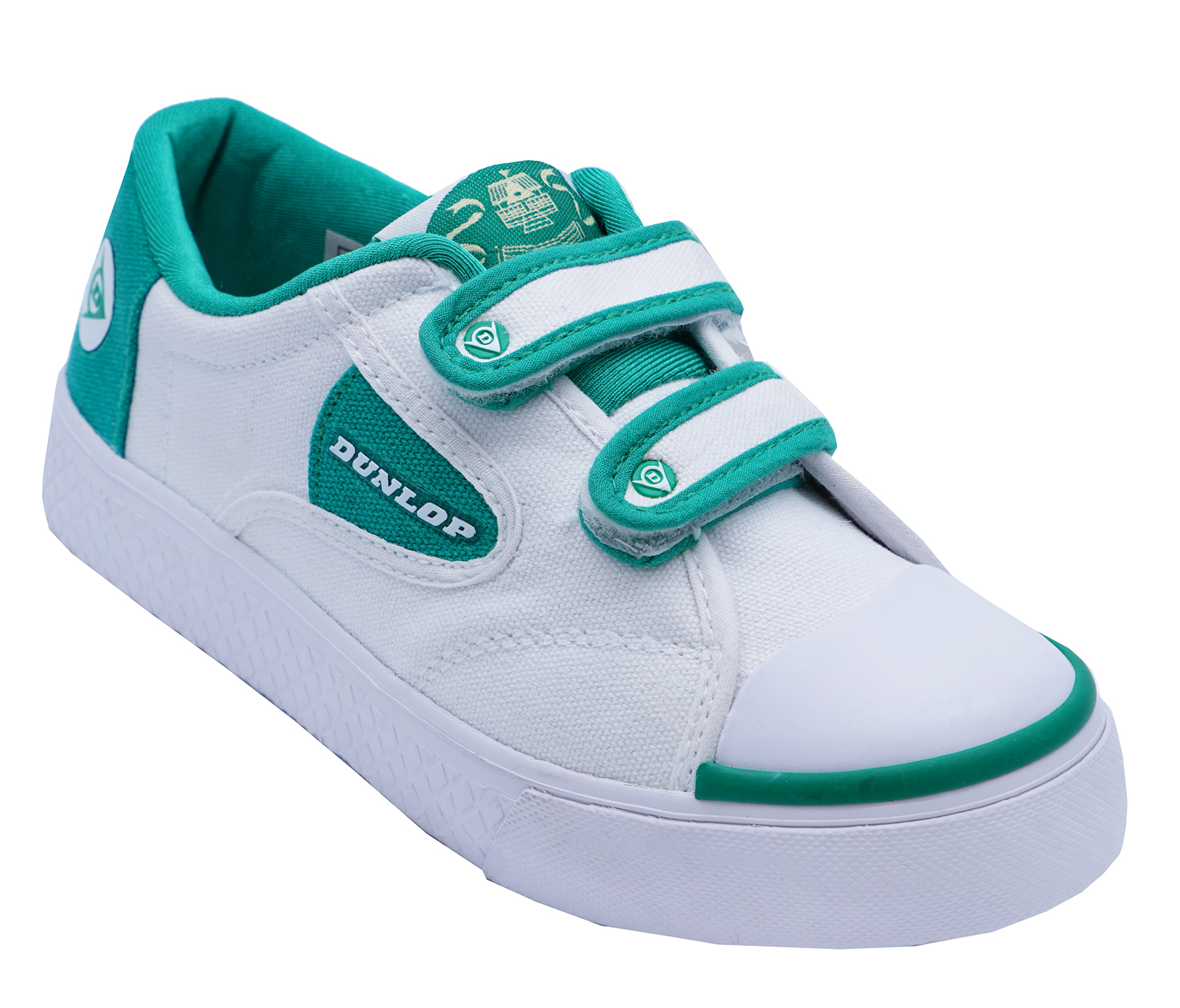 CHILDRENS WHITE SLIP ON TRAINERS P.E.SHOES