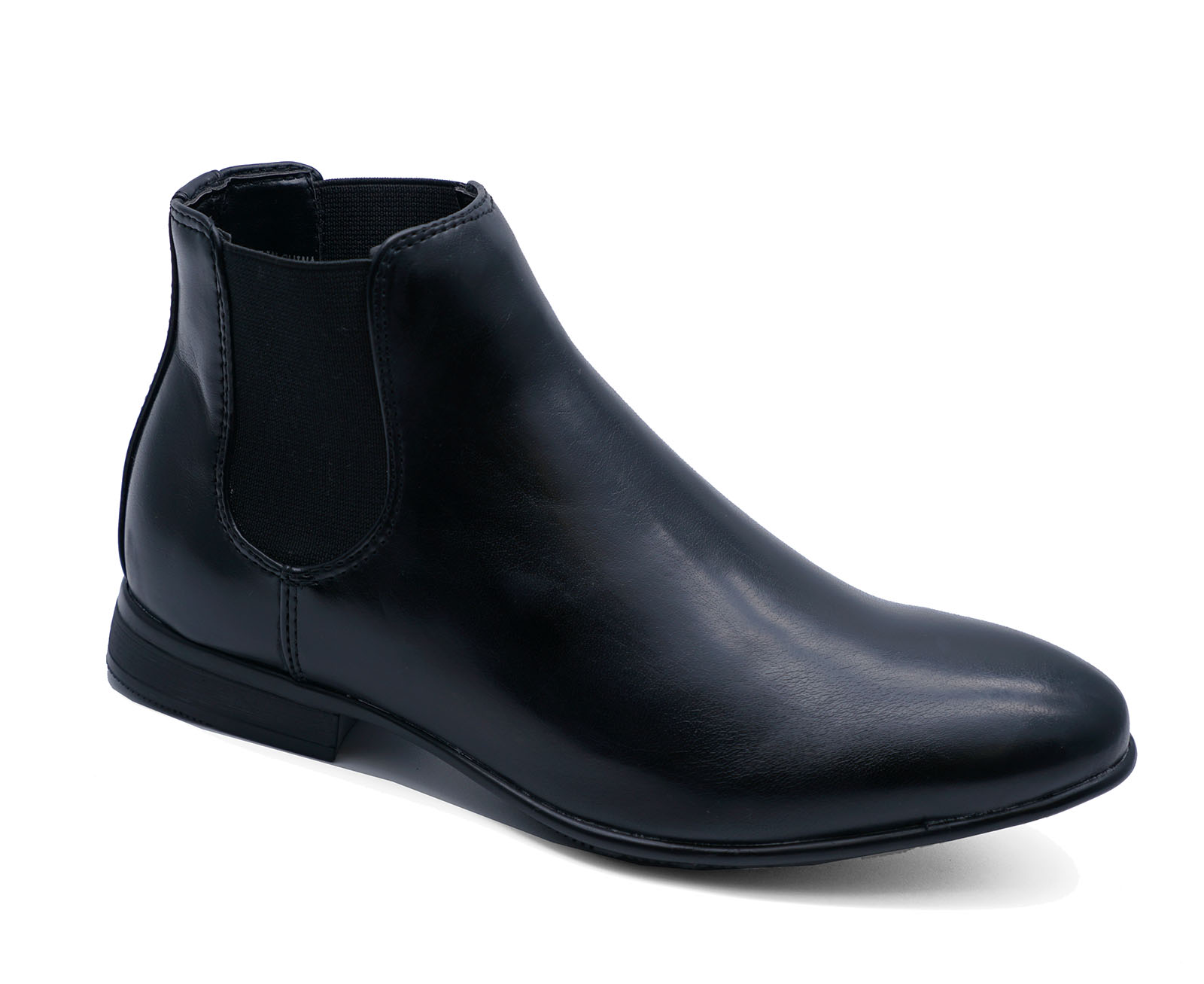 Boys Navy Leather Chelsea Dealer Ankle Boots Smart School//Occasion Wear