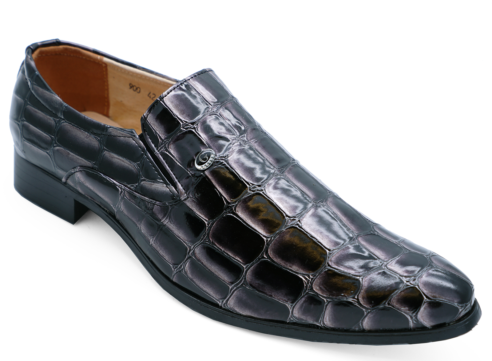 MENS-SLIP-ON-WORK-WEDDING-SMART-CASUAL-LOAFERS-FORMAL-SUIT-SHOES-SIZES-6-11 thumbnail 5