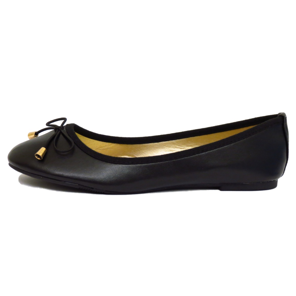 thumbnail 3 - LADIES-FLAT-BLACK-SLIP-ON-WORK-SCHOOL-SHOES-DOLLY-COMFY-BALLET-PUMPS-SIZES-3-8