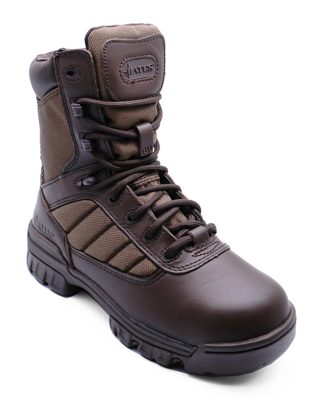 Senoras-Bates-8-034-Tactical-Deporte-Ejercito-Cuero-Patrulla-Combate-Militar-Botas-Talla-3 miniatura 4