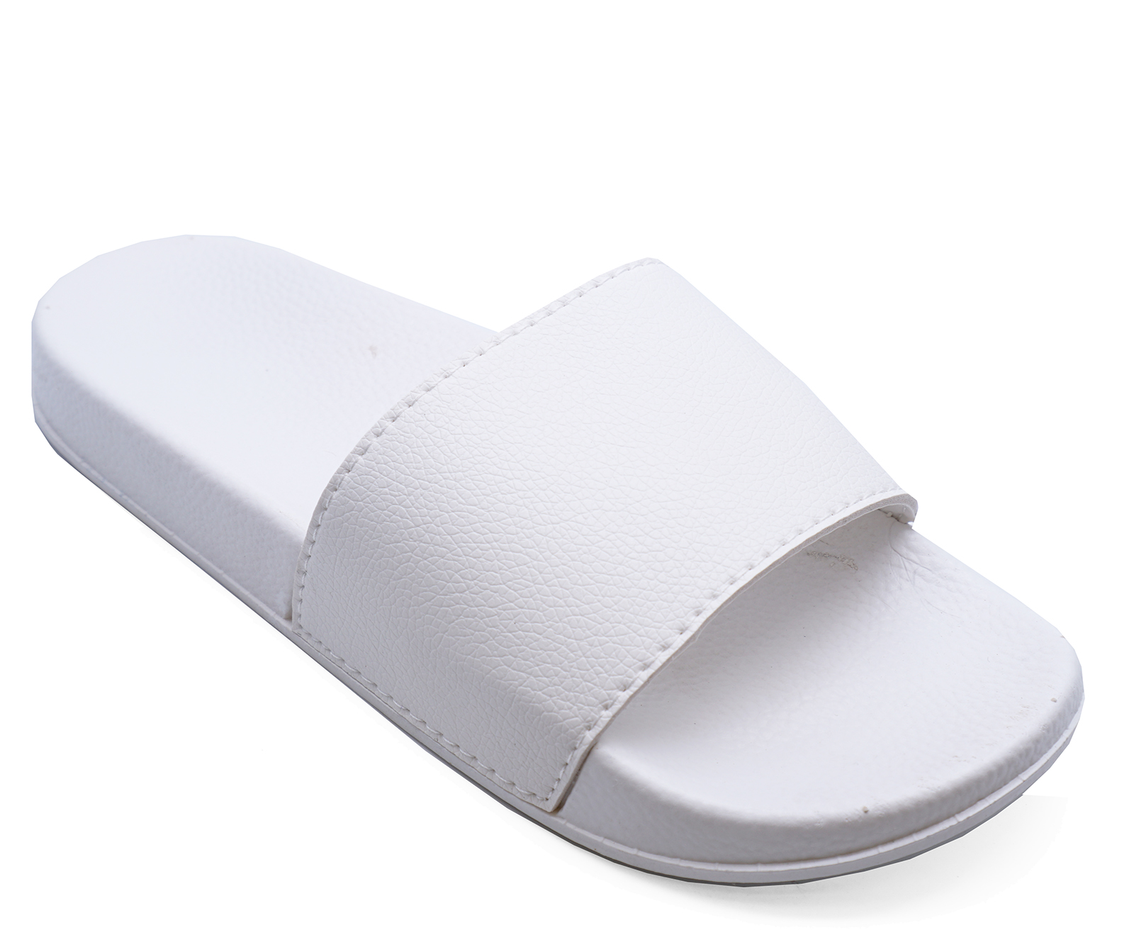 size 40 quality design cheapest price Details about LADIES WHITE SLIP-ON SLIDERS COMFY FLAT MULES HOLIDAY SANDALS  POOL SHOES UK 3-8