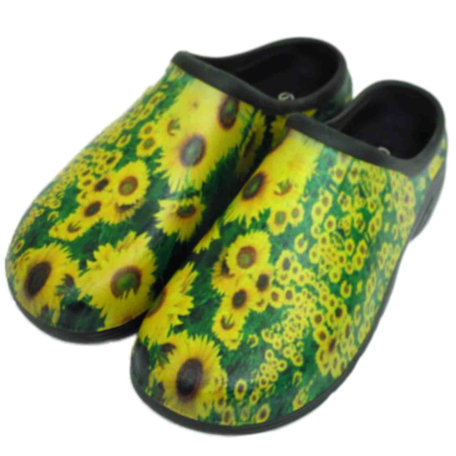 thumbnail 18 - LADIES-GARDENING-CLOGS-LIGHTWEIGHT-SLIP-ON-GARDEN-MULES-OUTDOOR-SHOES-UK-4-8