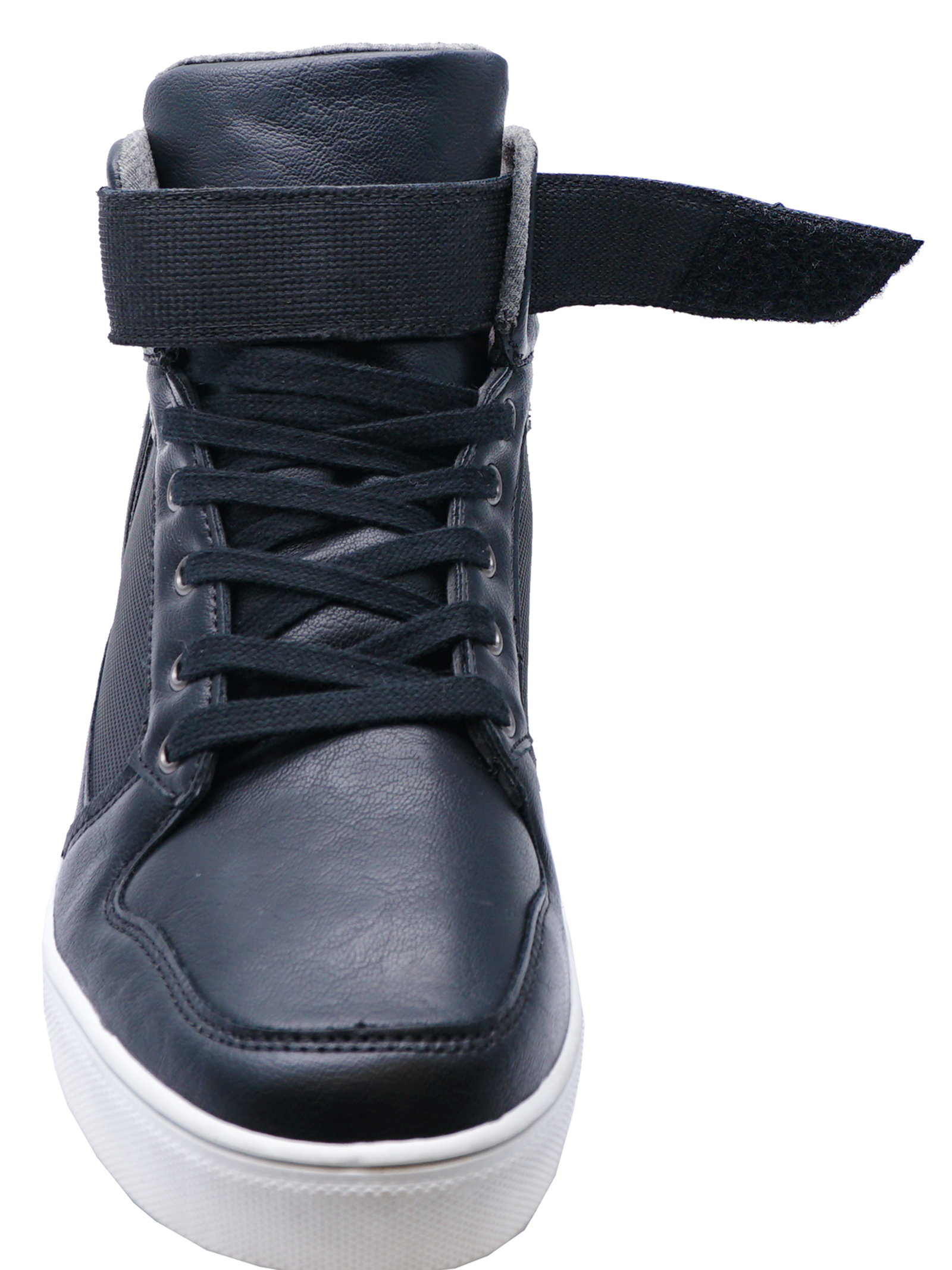MENS-SMART-BLACK-LACE-UP-TRAINER-COMFY-SMART-CASUAL-BOOTS-SHOES-PUMPS-SIZES-6-12 thumbnail 8