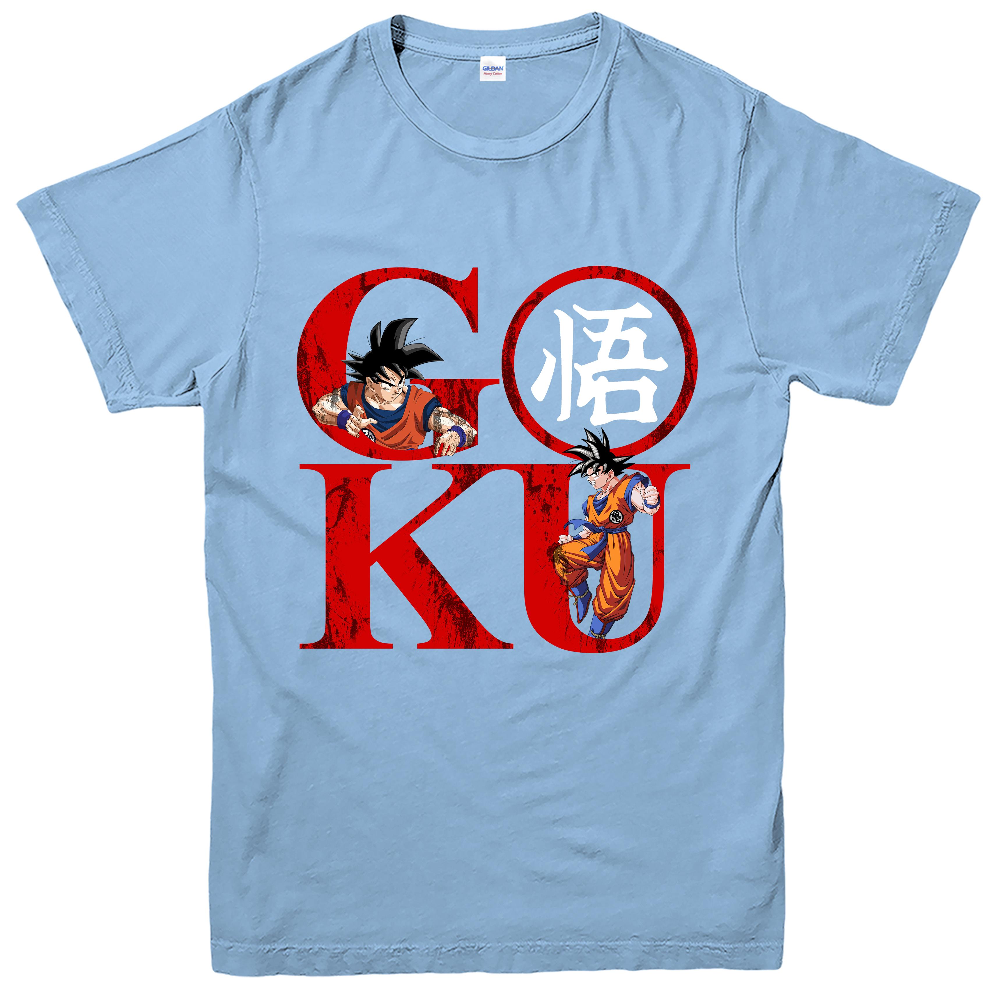 Dragon ball z goku logo t shirt mediwiki wiki des ecn medecine goku logo t shirt goku inspire dragon ball buycottarizona Choice Image