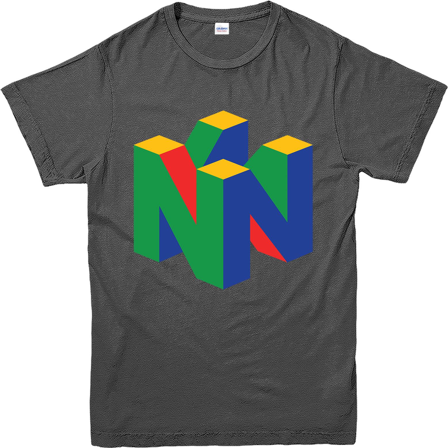 Nintendo-64-T-Shirt-Nintendo-Logo-Inspired-Design-Top
