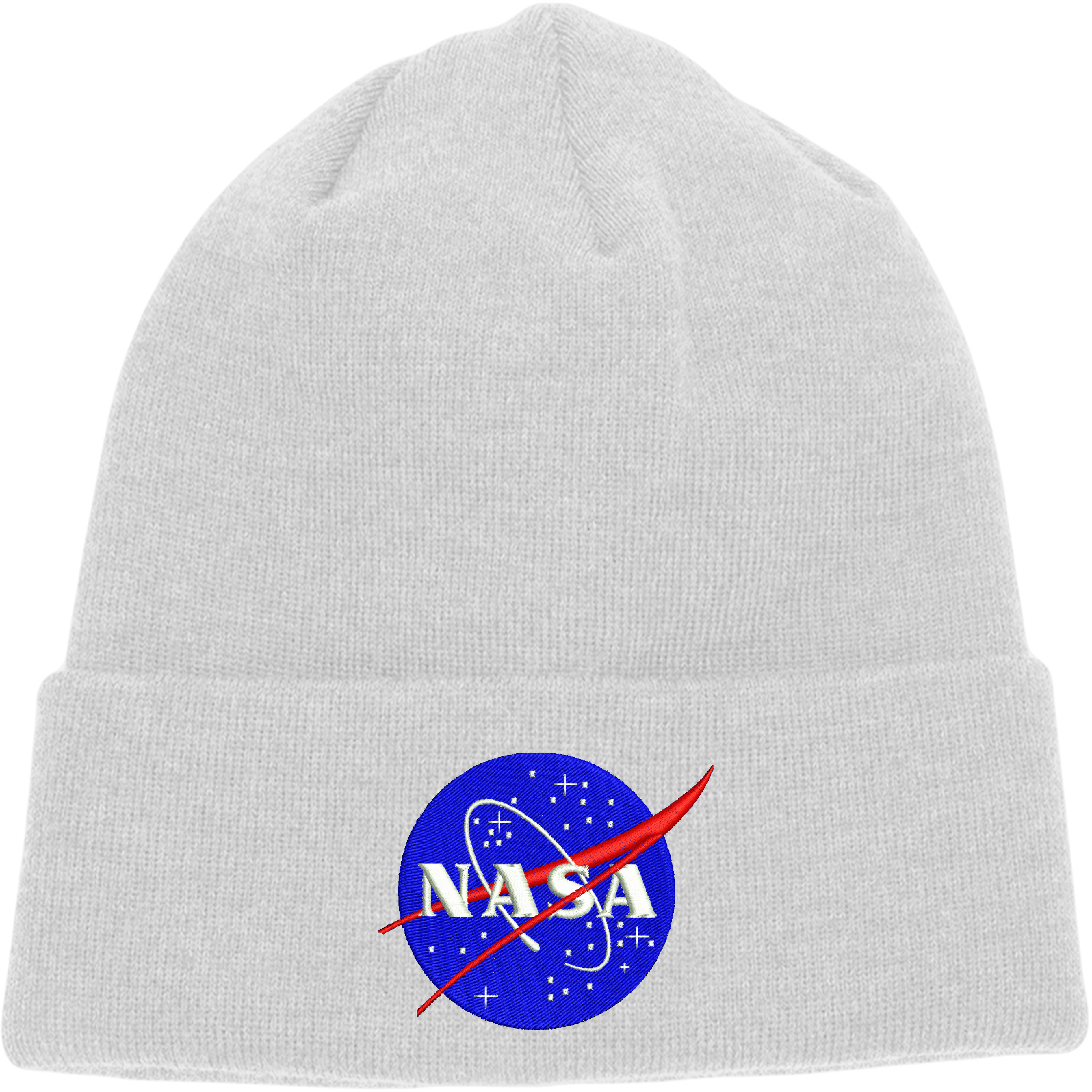 Image is loading Nasa-Beanie-International-Space-Station-Hat -Embroidered-Design 71d710020ac
