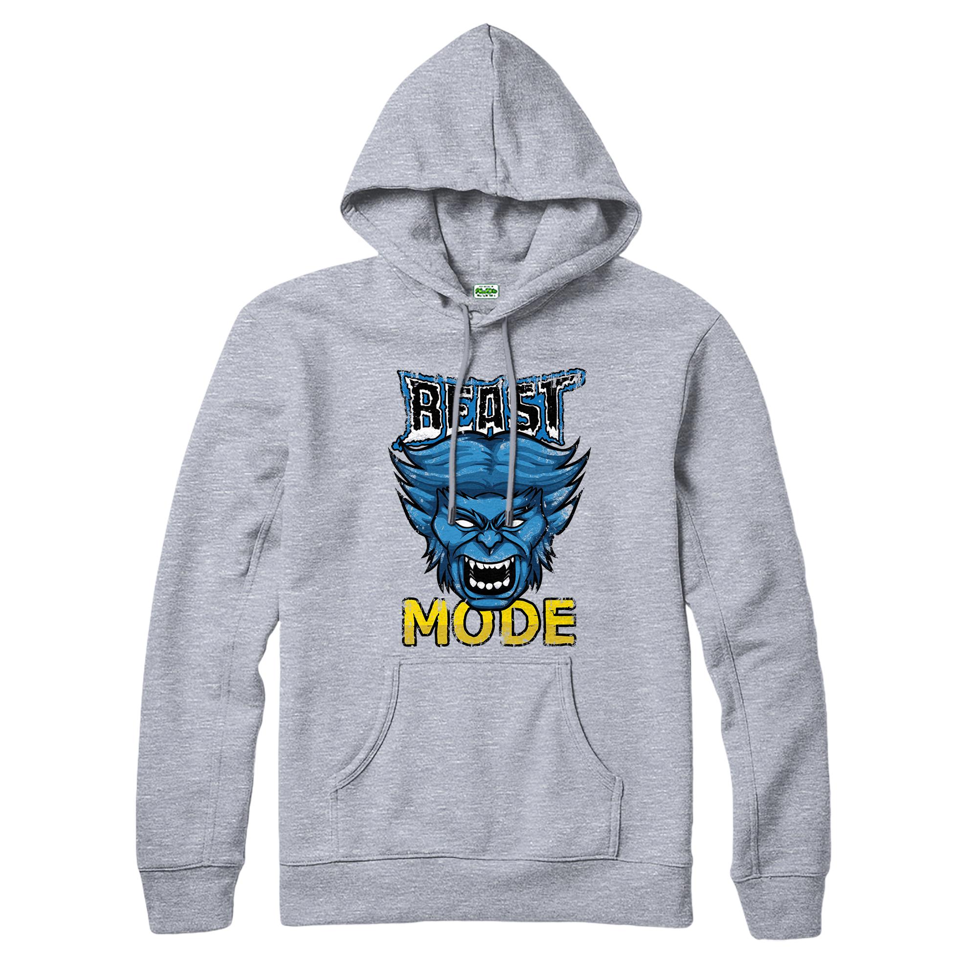 Beast-mode-X-Men-Hoodie-gym-spoof-inspred-design-Superhero-Marvel-top