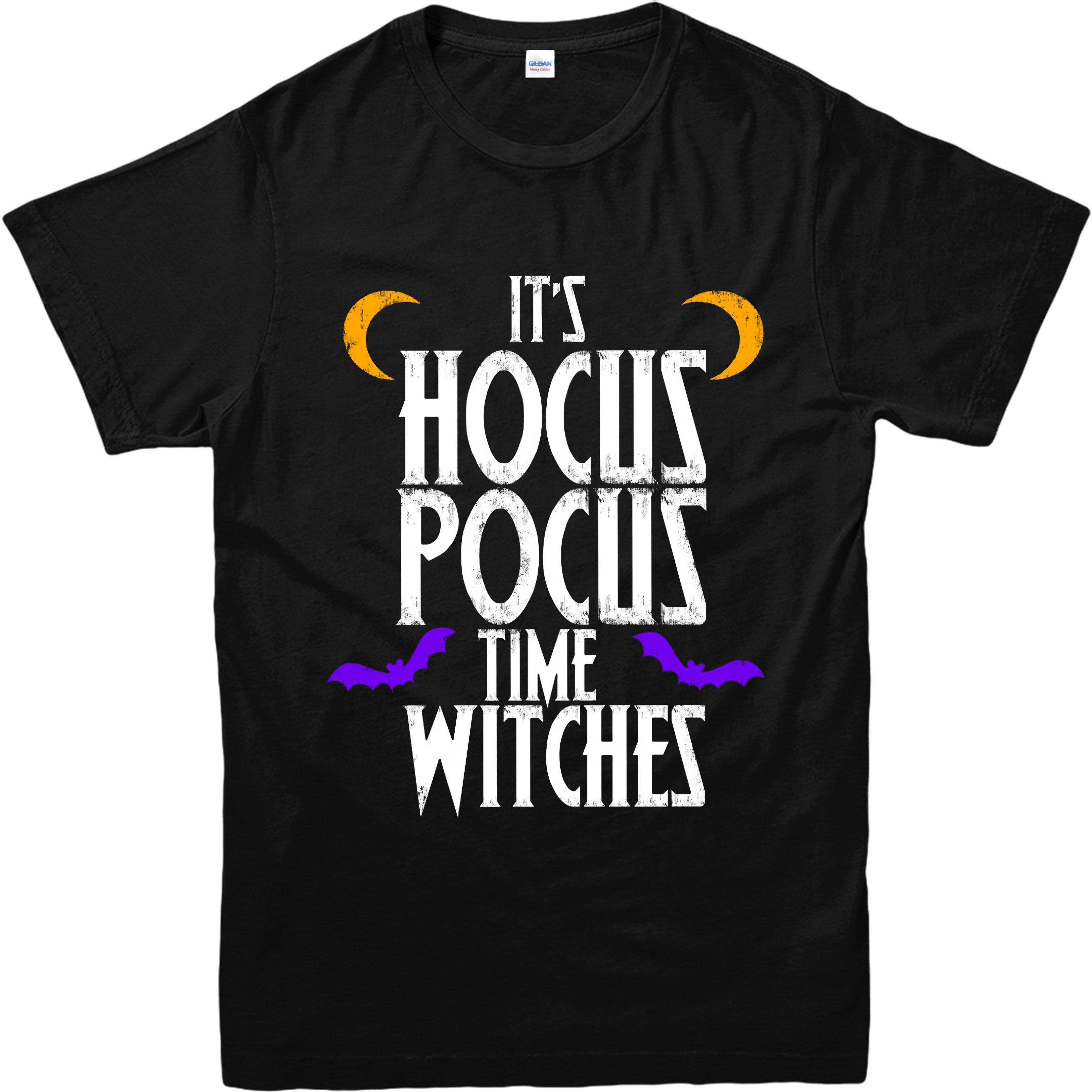 halloween t-shirt, hocus pocus time t-shirt, inspired design top | ebay