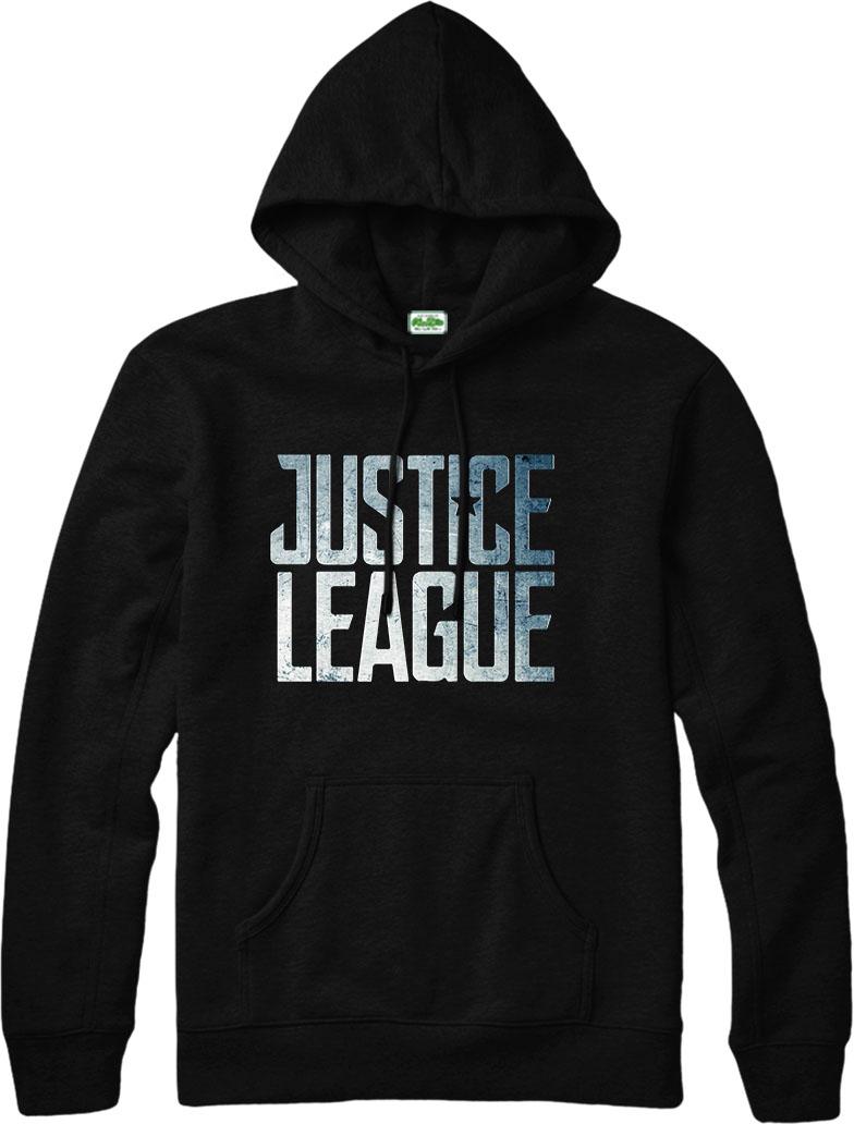 justice league hoodie, logo dc comics hoodie, inspired design top | ebay