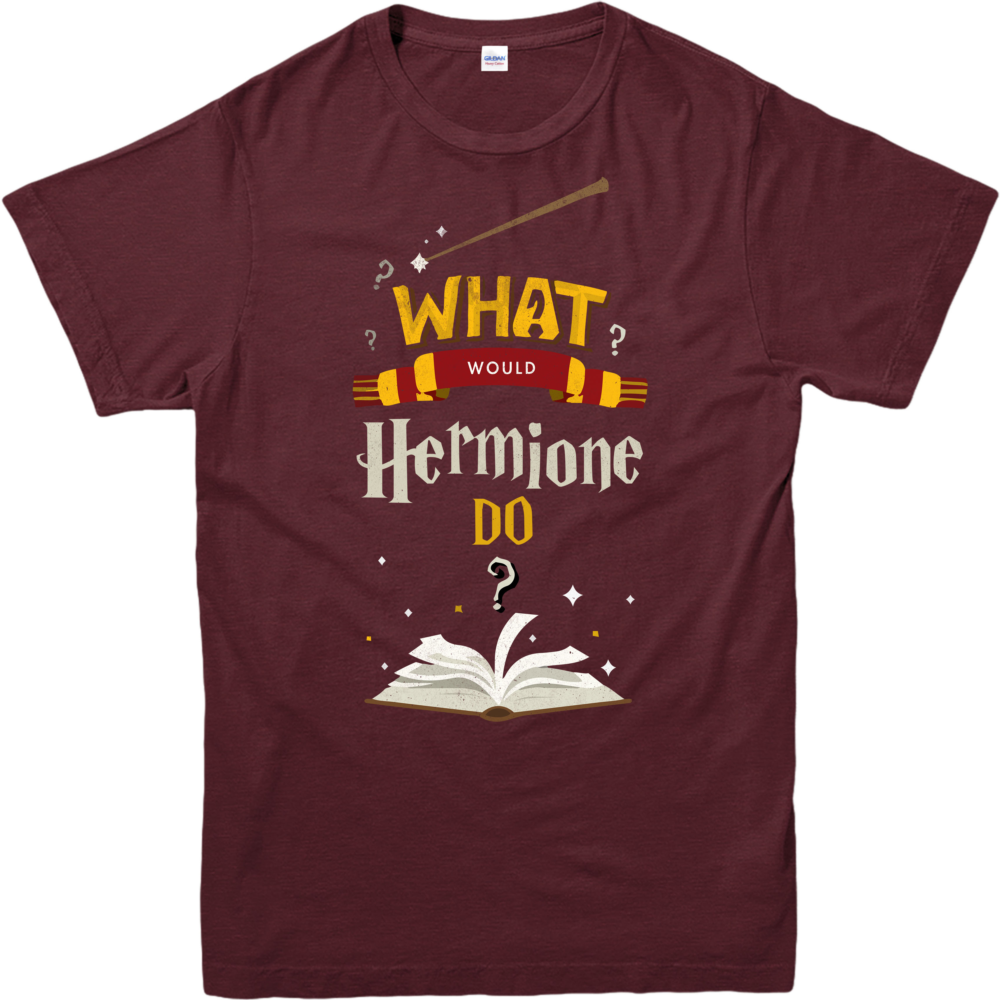 Harry potter t shirt what would hermione do final book for Entire book on shirt