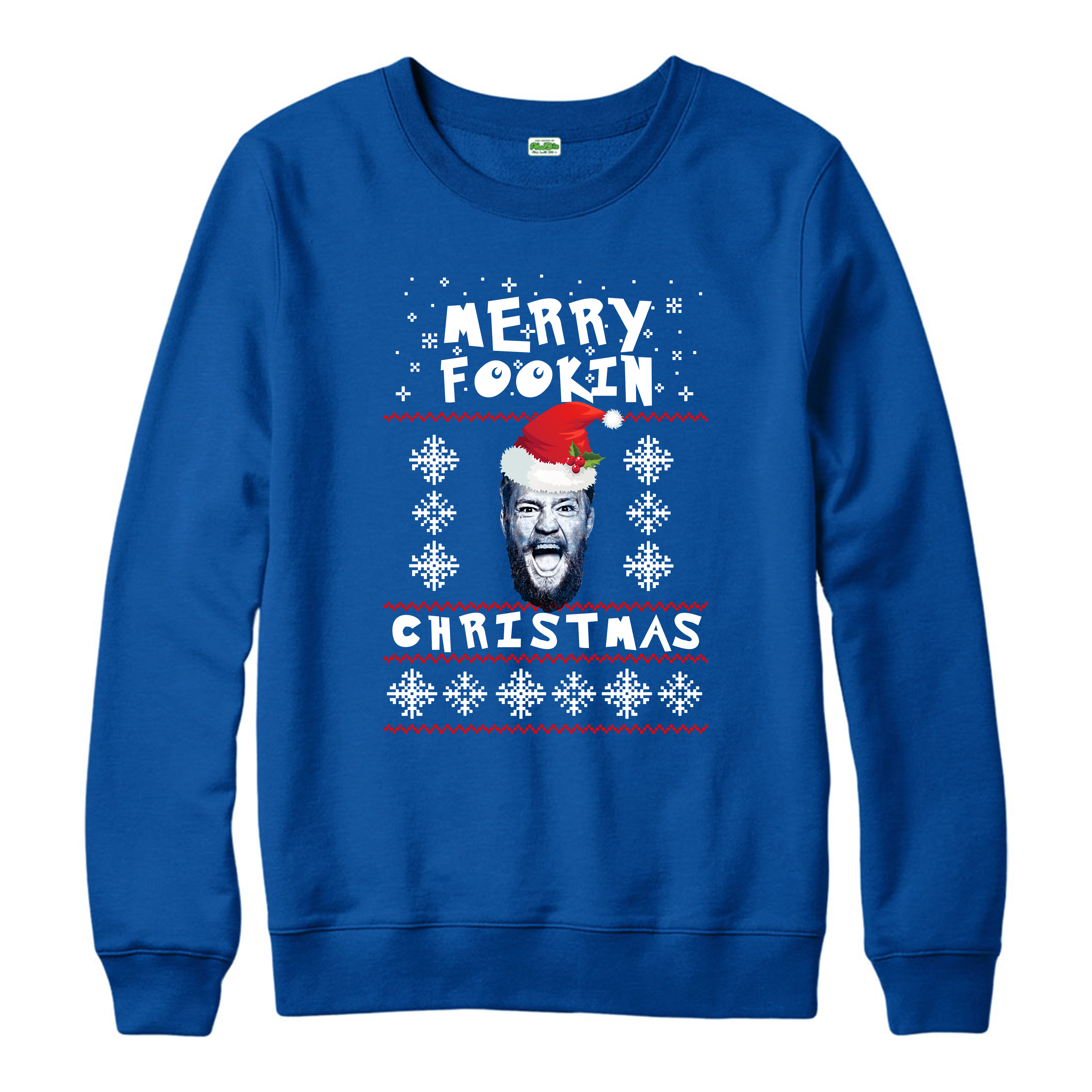 Merry-Fookin-Christmas-Jumper-Conor-Mcgregor-Xmas-Spoof-Adult-And-Kids-Sizes