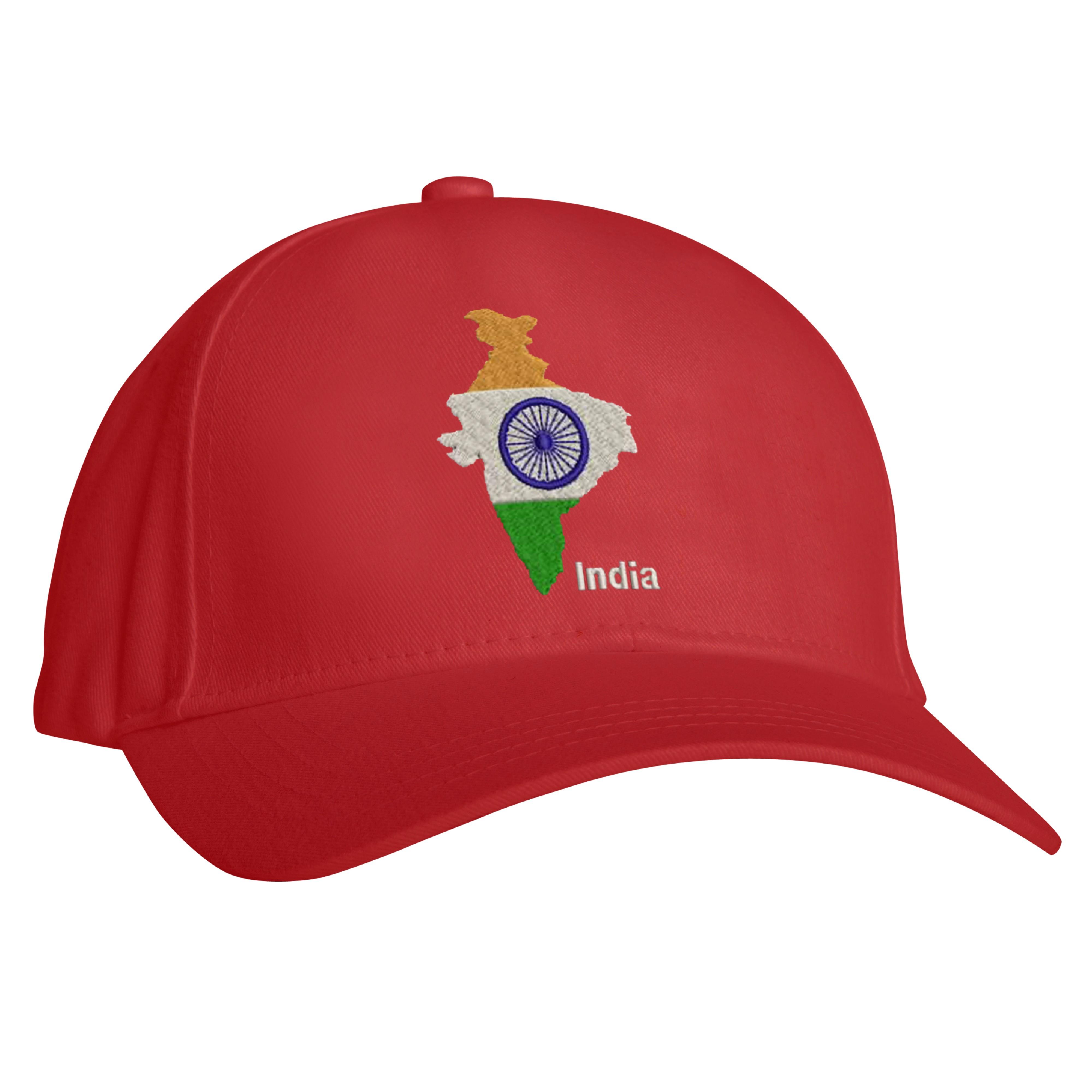 India-mappa-bandiera-Cappello-da-baseball-nazione-Love-PATRIOT-Cappello-logo-ricamato-Design