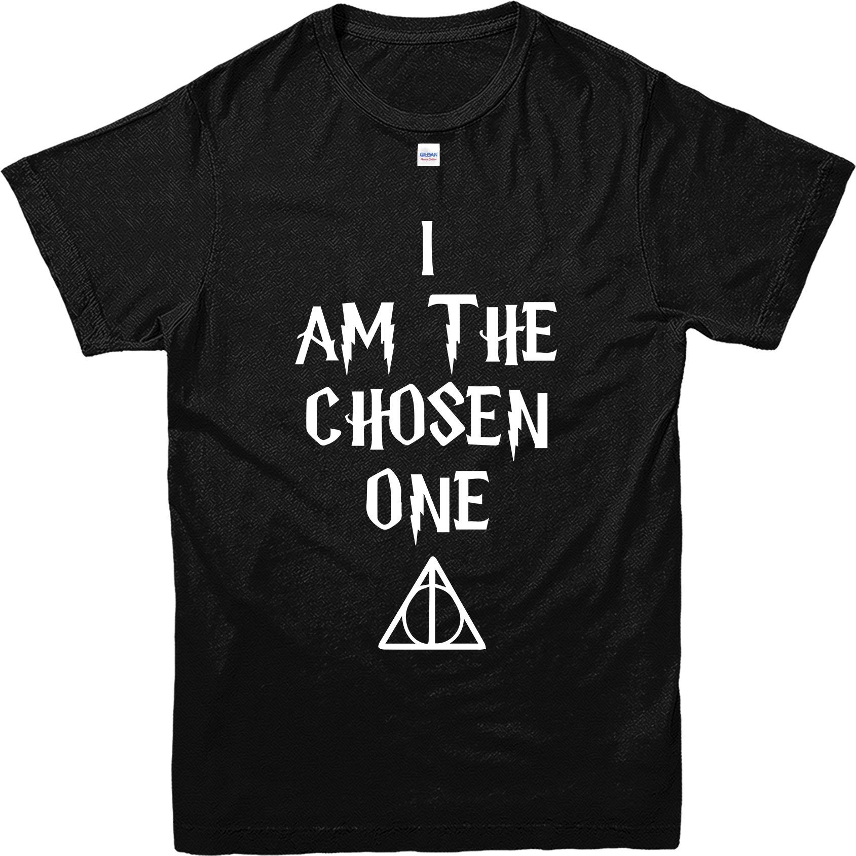 Harry potter t shirt i am the chosen one t shirt for One t shirt design