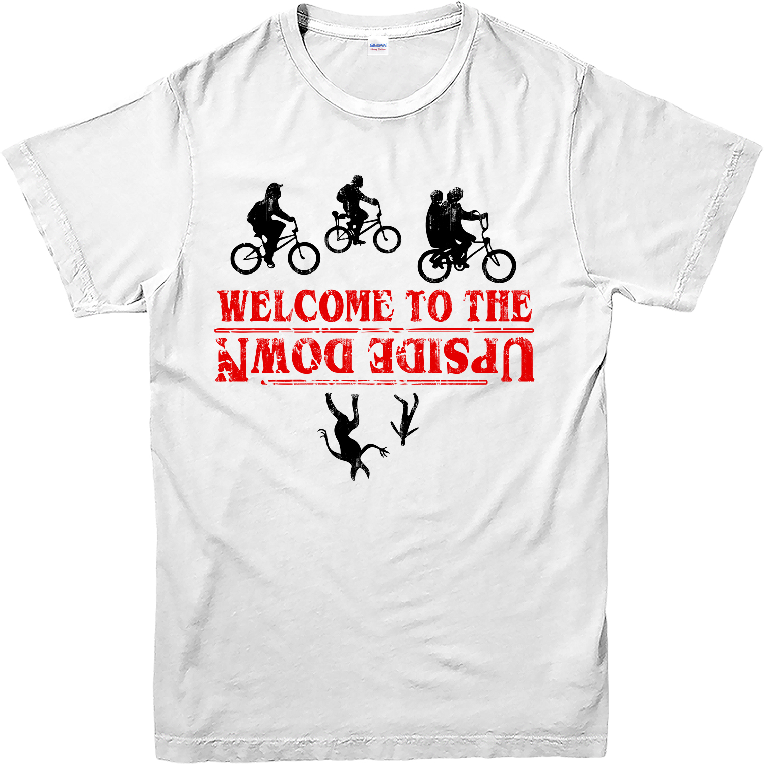 Stranger Things T-Shirt, Characters Poster T-Shirt, Inspired ...