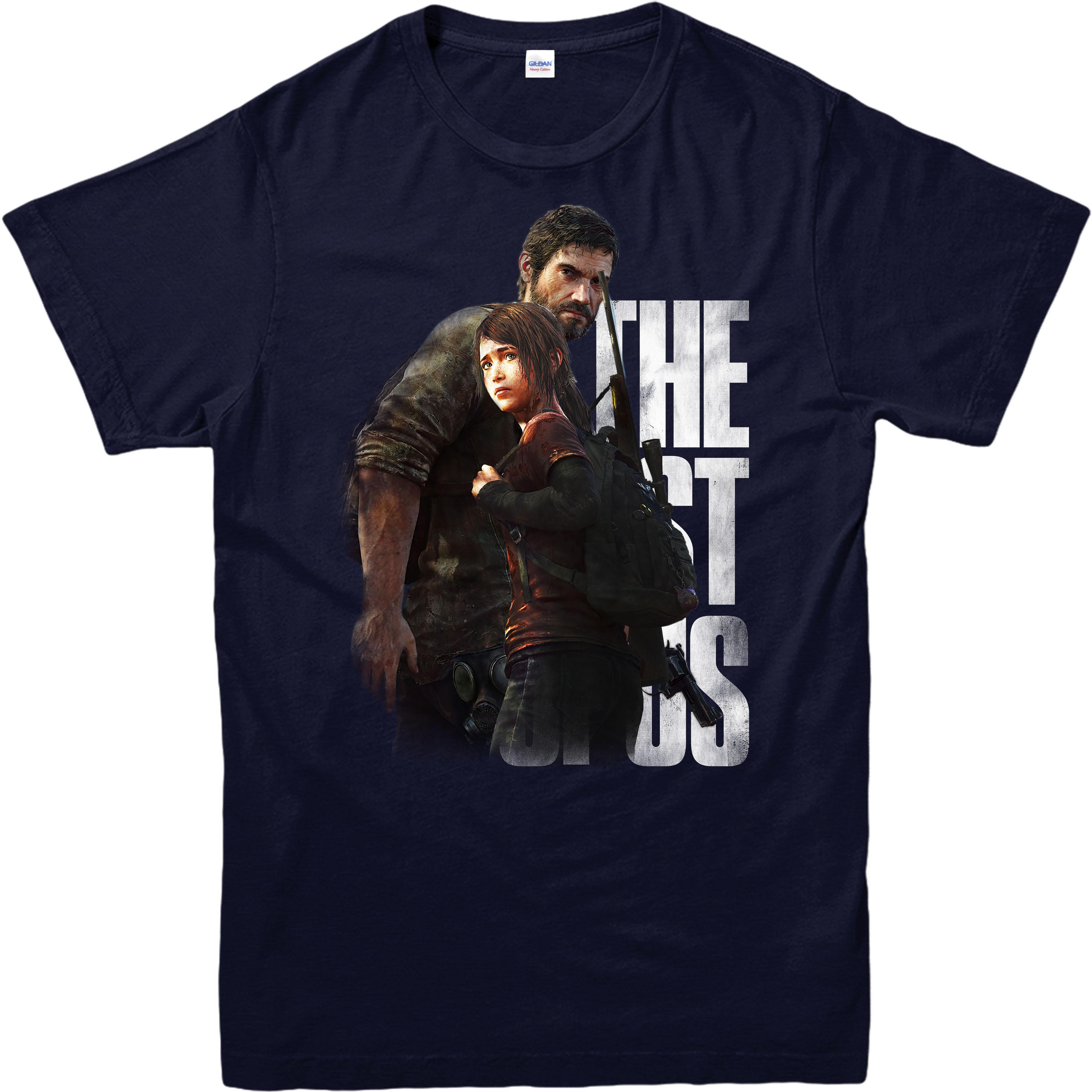 The-Last-of-Us-T-shirt-Adventure-Survival-Horror-Game-adultes-et-enfants-Tee-Top miniature 3