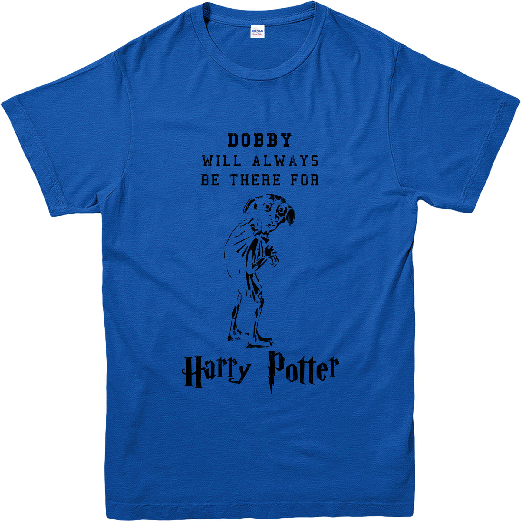 Harry Potter T Shirt Dobby Famous Quote T Shirt Inspired