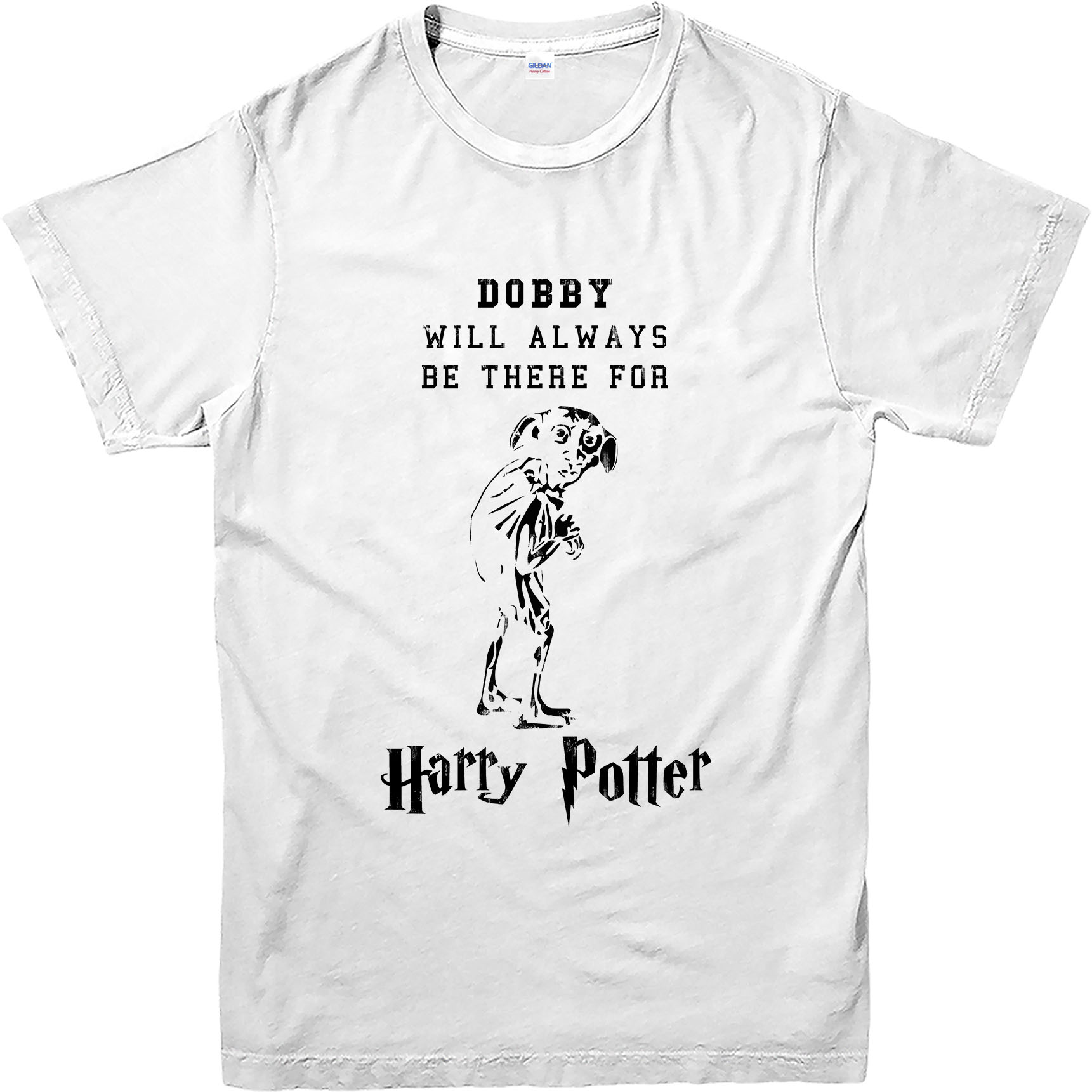 harry potter t shirt dobby famous quote t shirt inspired design top ebay. Black Bedroom Furniture Sets. Home Design Ideas