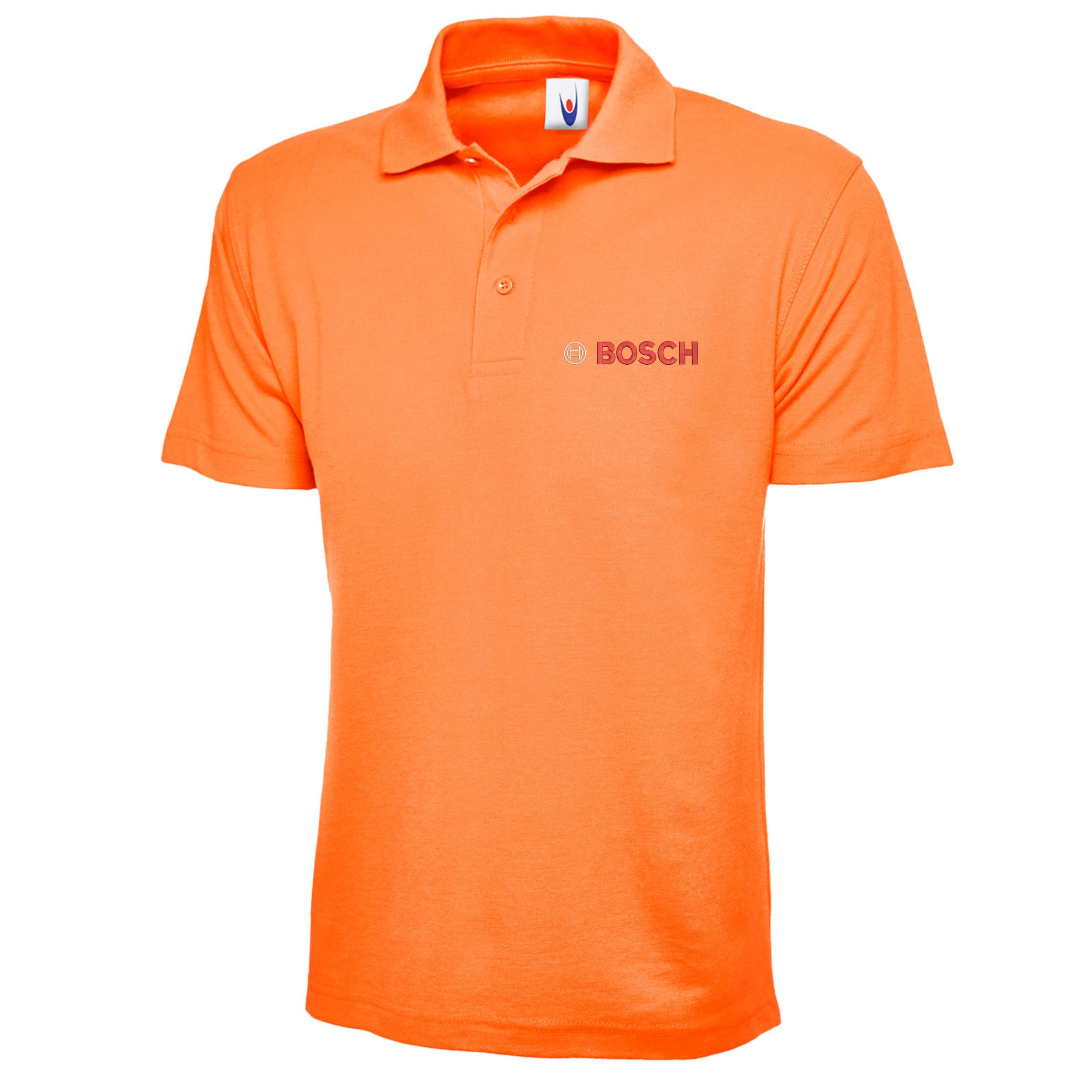 Embroidered Bosch Logo Polo Shirt, Workwear Uniform ...